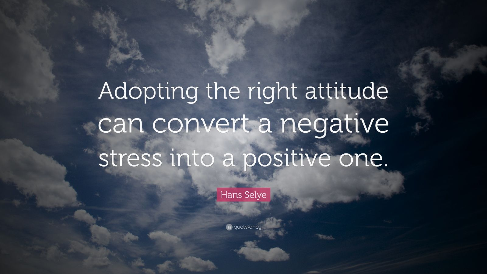 how to change a negative attitude into a positive one