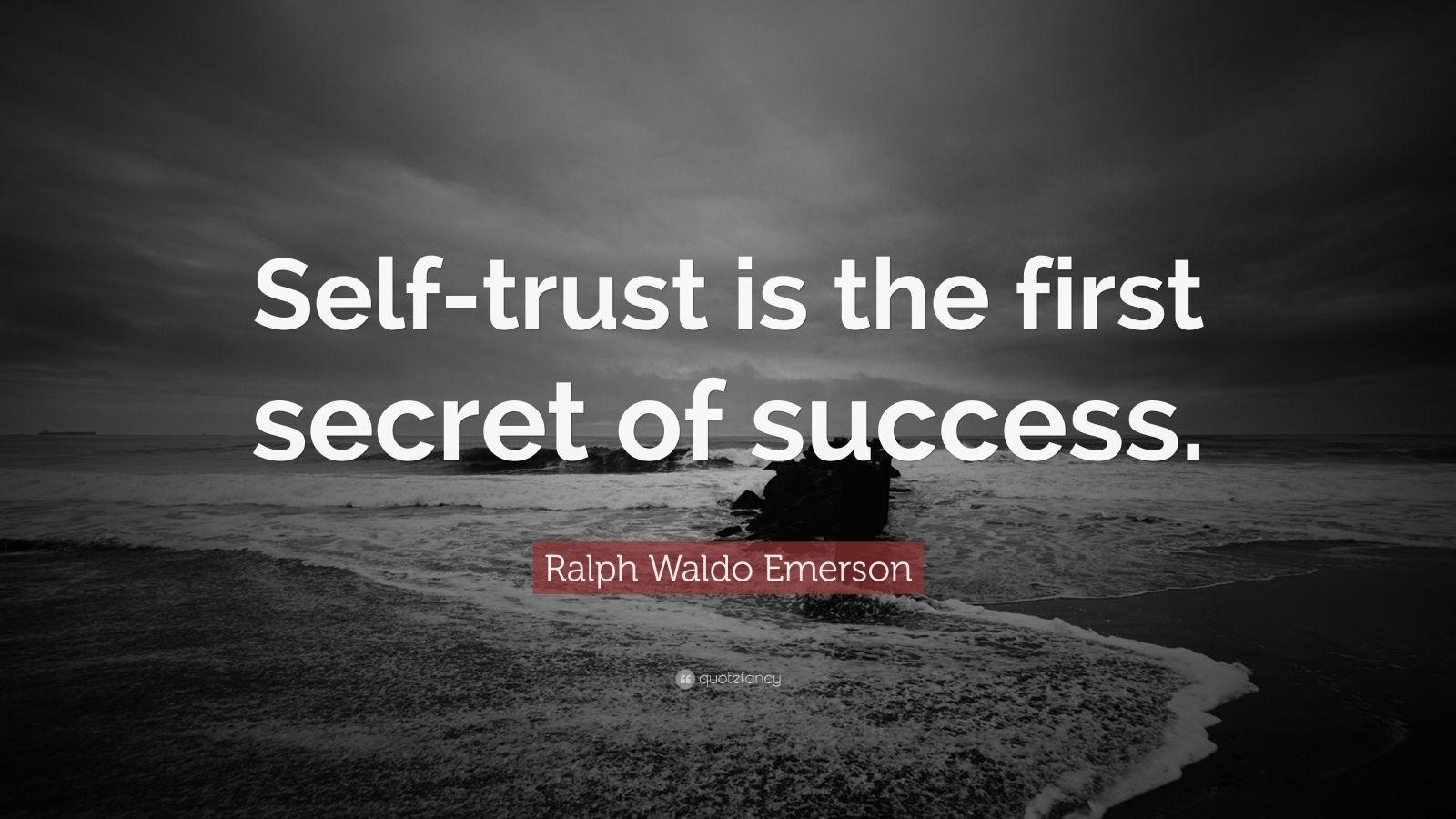 Ralph Waldo Emerson Quote On Success