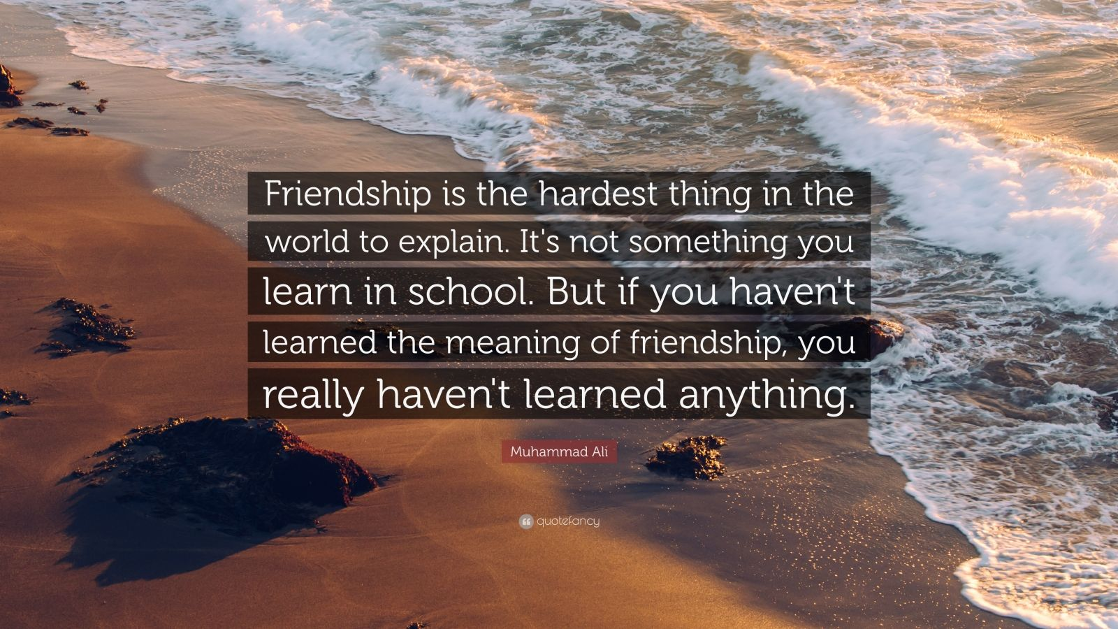 the precept of true friendship So what makes a true friend according to aristotle, there are three kinds of friendships: but true friends don't cut you off because of it.