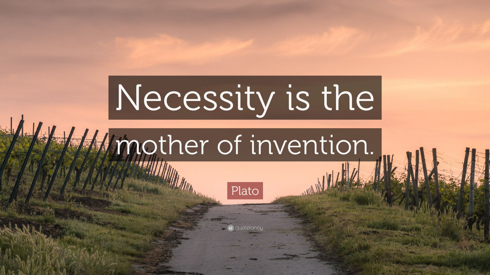 necessity is the mother of invention Meaning: 'necessity is the mother of invention' is an old proverb it means that necessity compels man to exercise his power of invention it means that necessity compels man to exercise his power of invention.