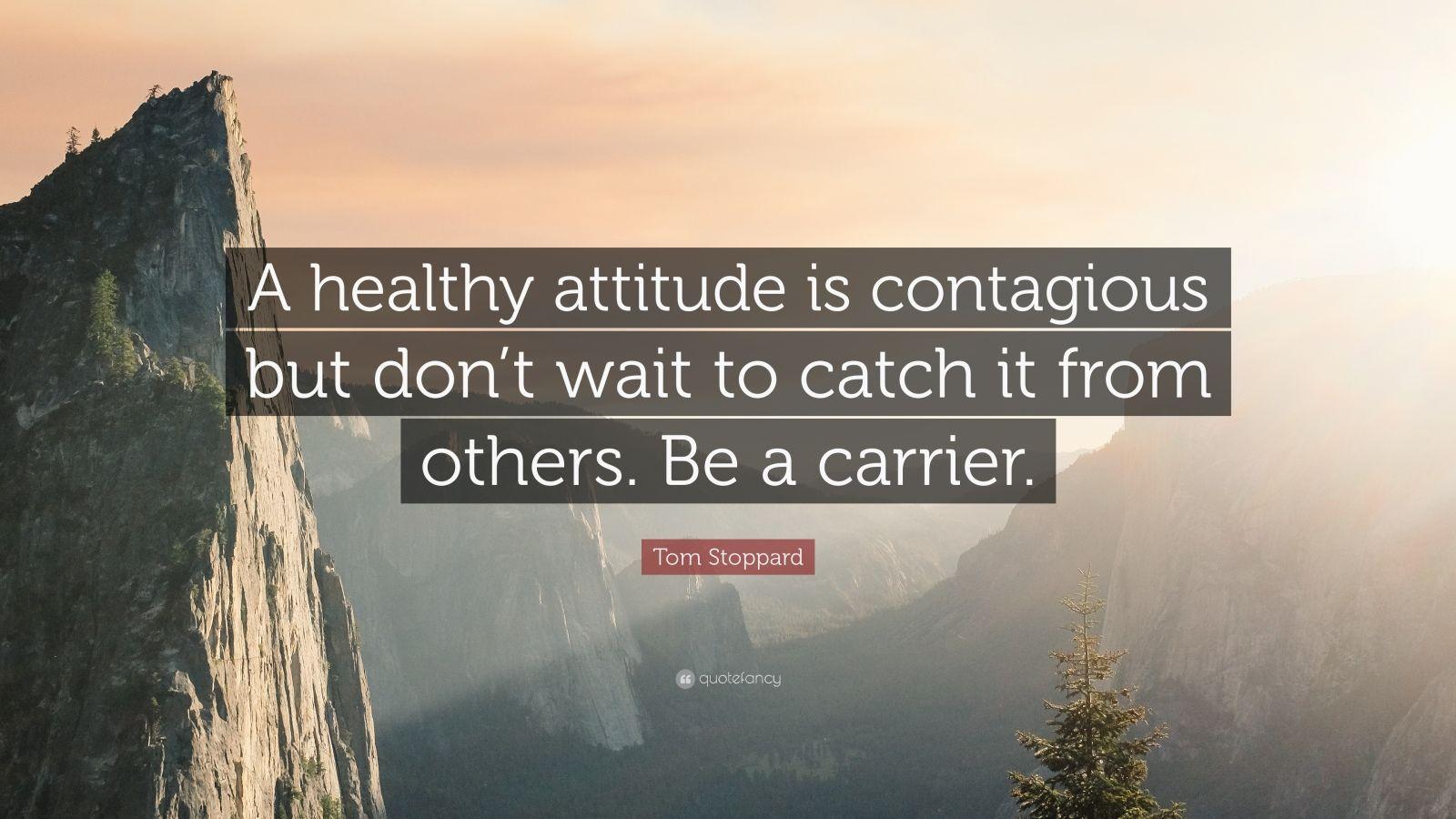 And positive attitude