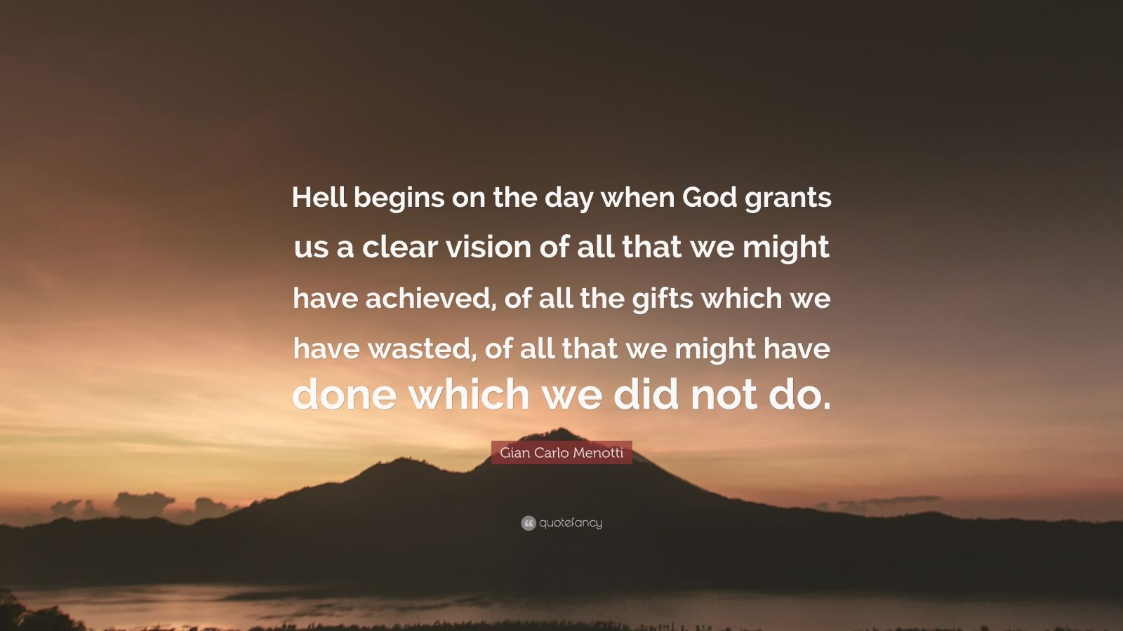 using evil means to achieve good ends As for you, you meant evil against me, but god meant it for good, to bring it about that many people should be kept alive, as they are today.