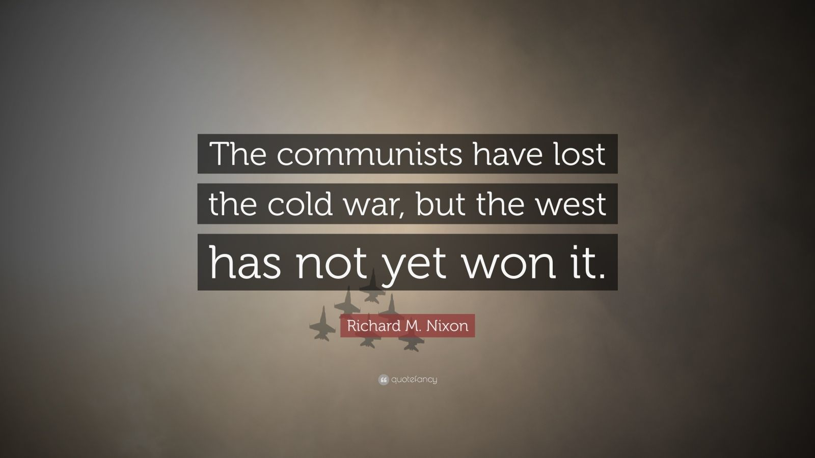 The west won the cold war discuss essay
