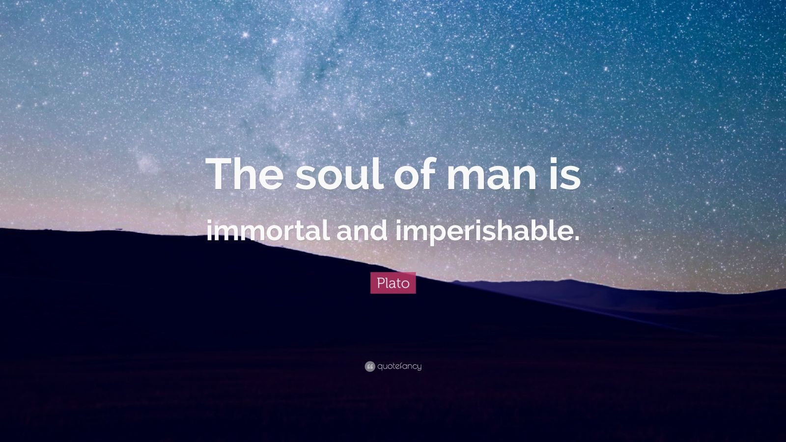 Plato's Immortality of the Soul