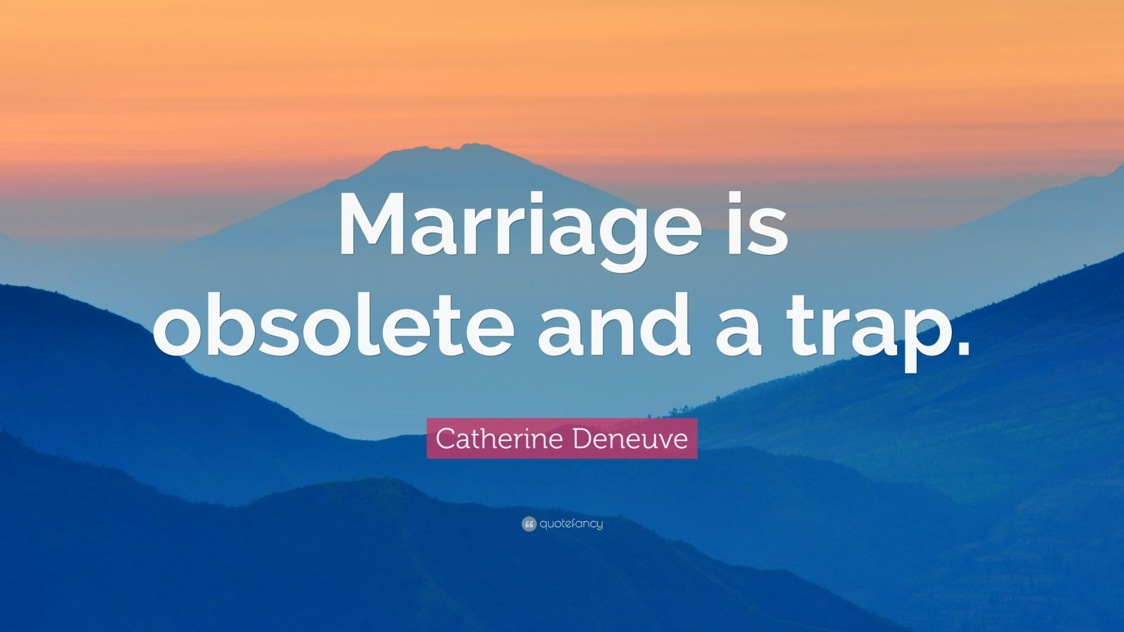 is marriage obsolete Some people think marriage is obsolete sally says she and her friends are all cynical about marriage she has no intention of marrying because everyone i know who married has divorced.