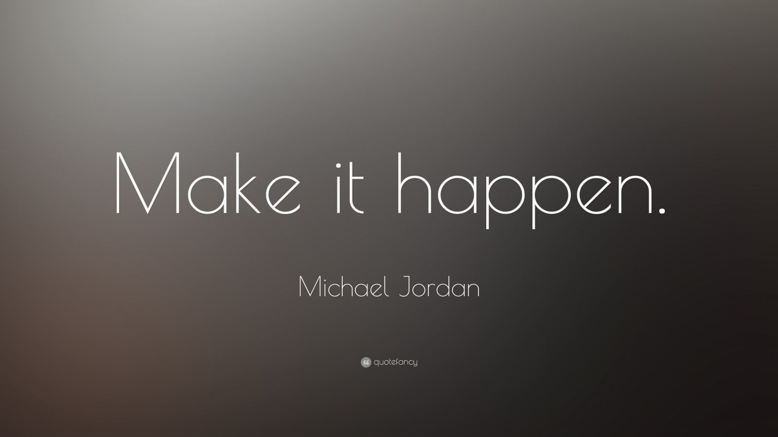 Michael Jordan ...