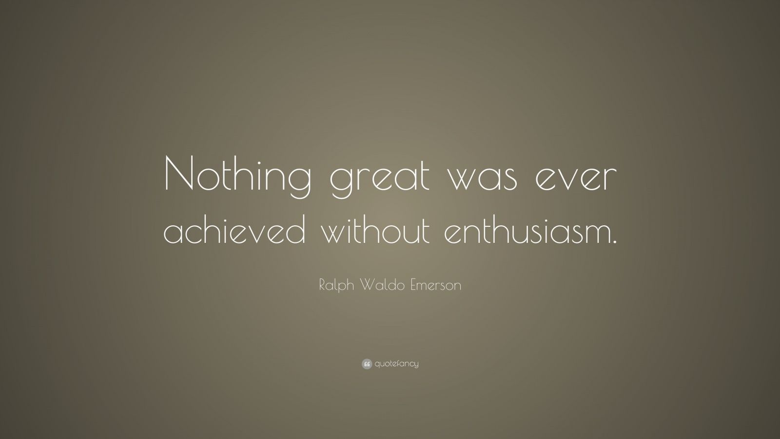 nothing great was ever achieved without enthusiasm Nothing great was ever achieved without enthusiasm (ralph waldo emerson) smigroup is today one of the world's largest producers of packaging machines smigroup consists of smi, the group's parent company, with its internal divisions (smiflexi, smiform, smiline, smimec, smipal), of the subsidiary companies smipack.