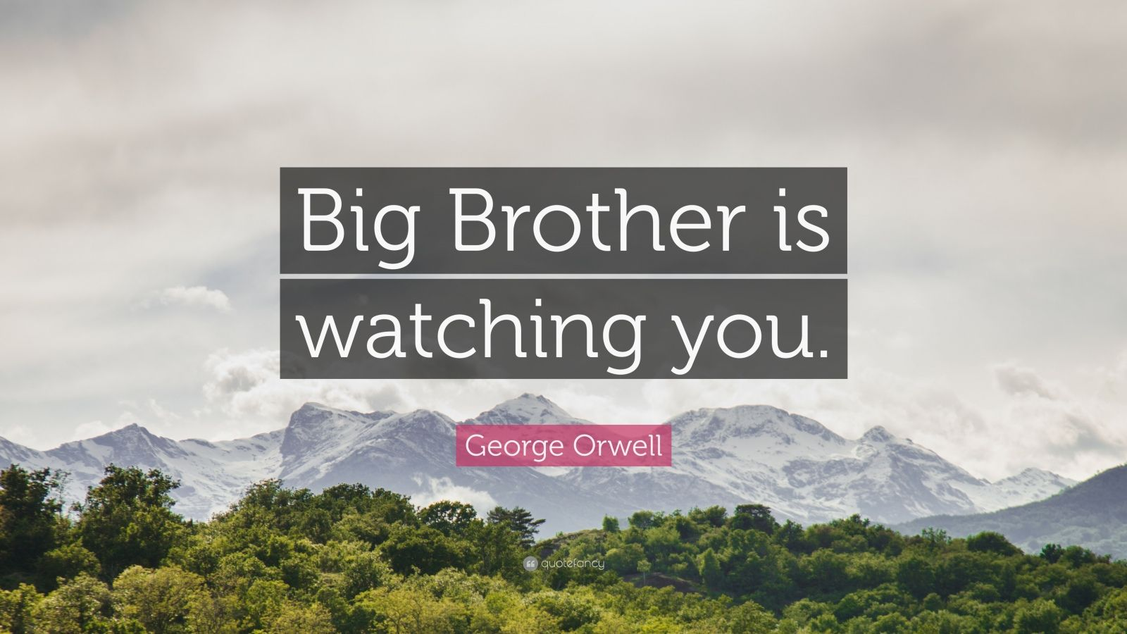 the big brother s impact on george For more than 100 years, big brothers big sisters has operated under the belief that inherent in every child is the ability to succeed and thrive in life.