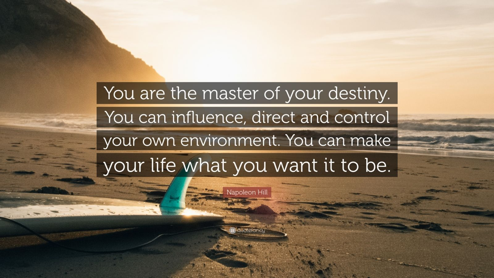what does it mean to control your own destiny essay Control your destiny or someone else will makes a major contribution to this artful management practice in the insistence that the company control its own destiny.
