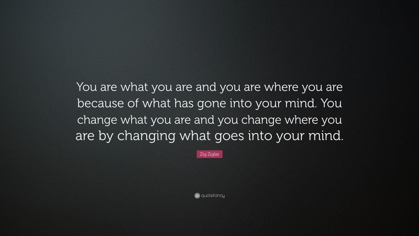 Zig Ziglar Quotes On Change