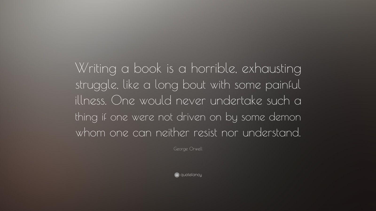 Novel Writing Quotes