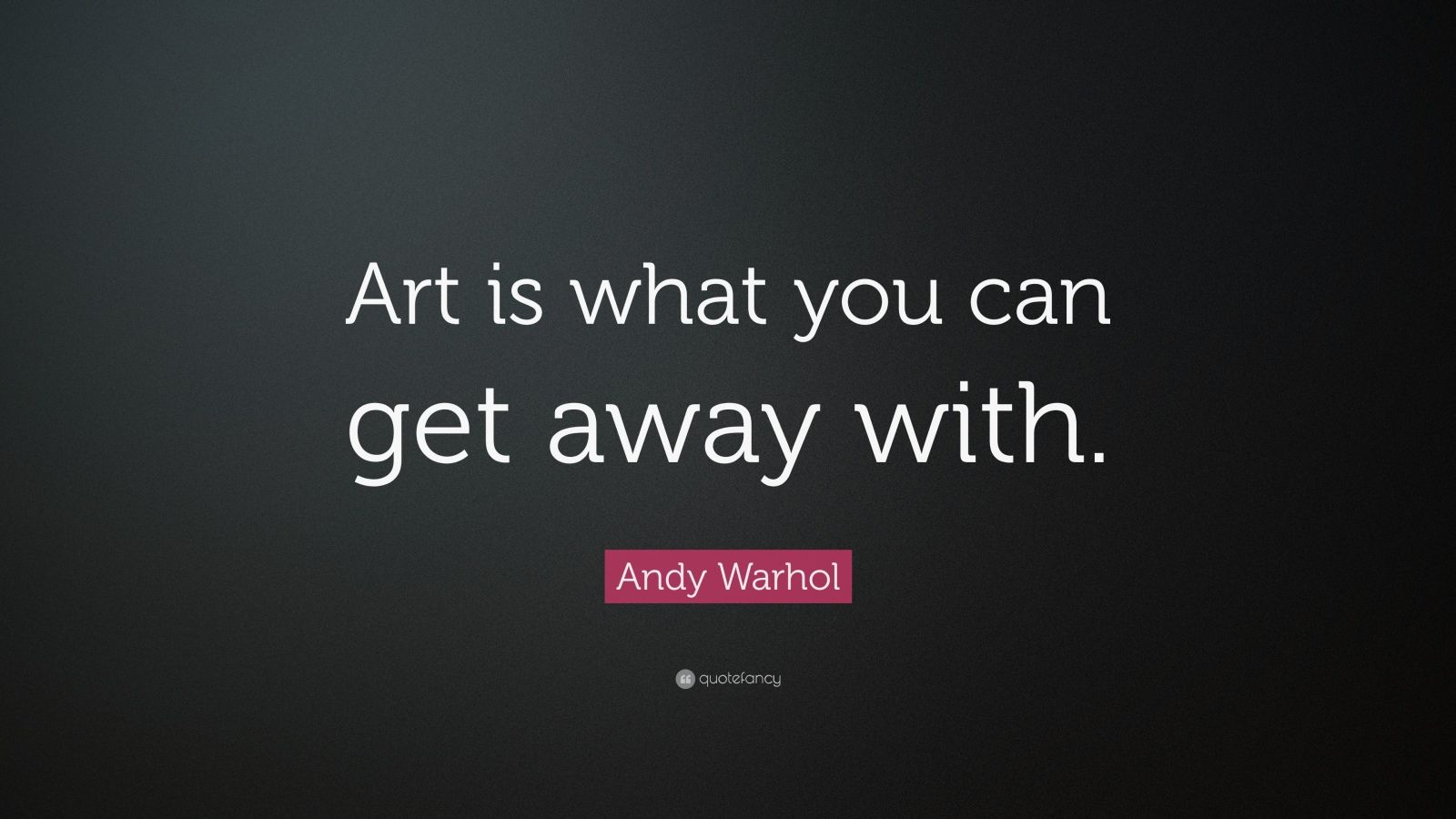 andy warhol quotes - HD 1600×900