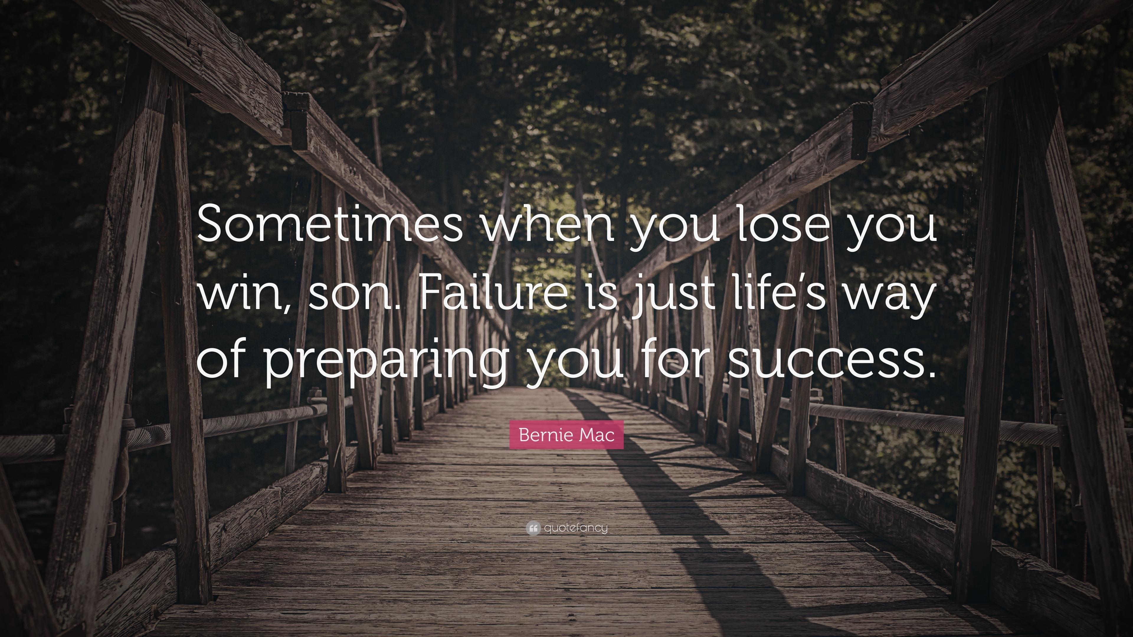 Failure and Punishment