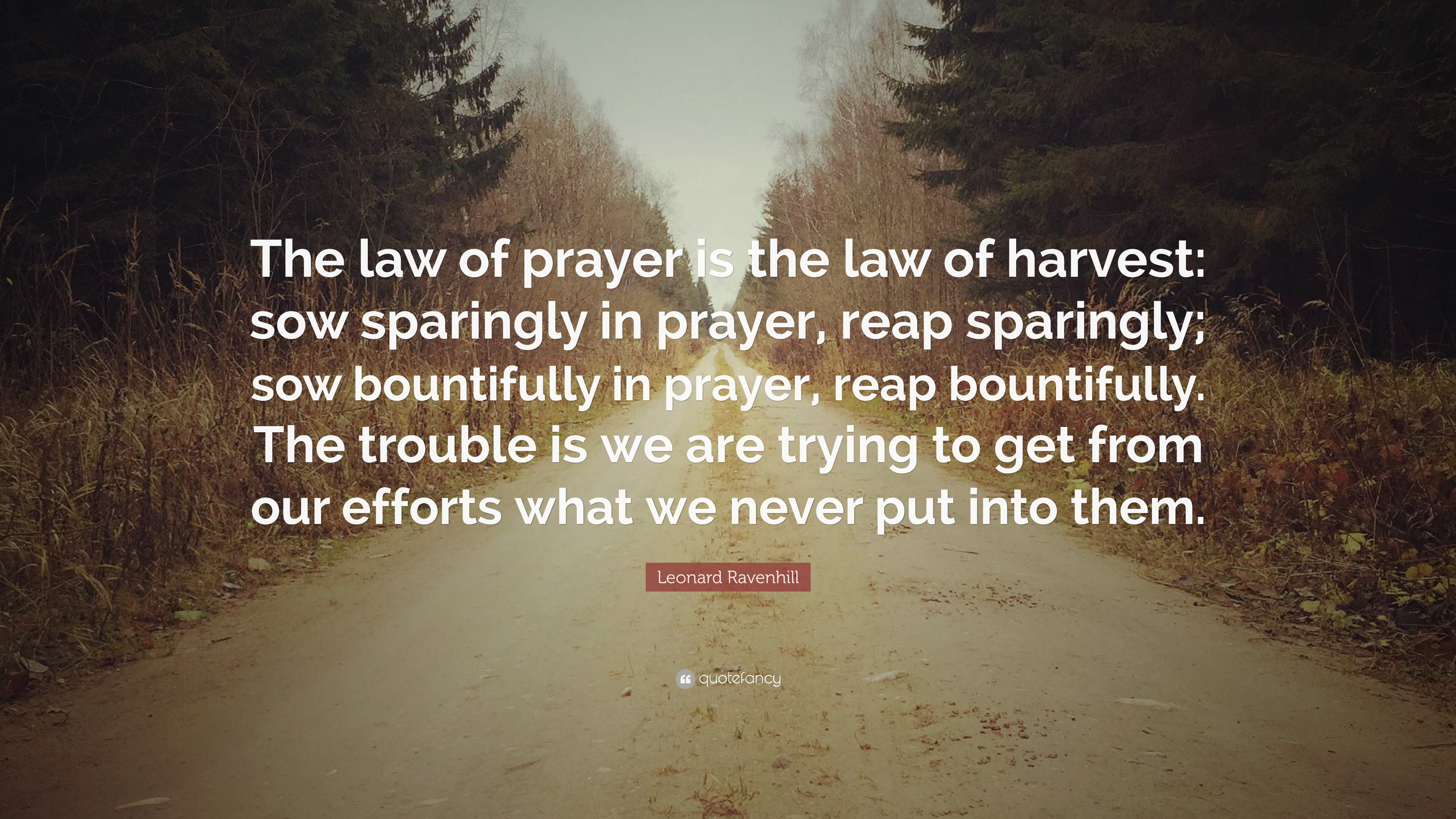 only one life leonard ravenhill quote