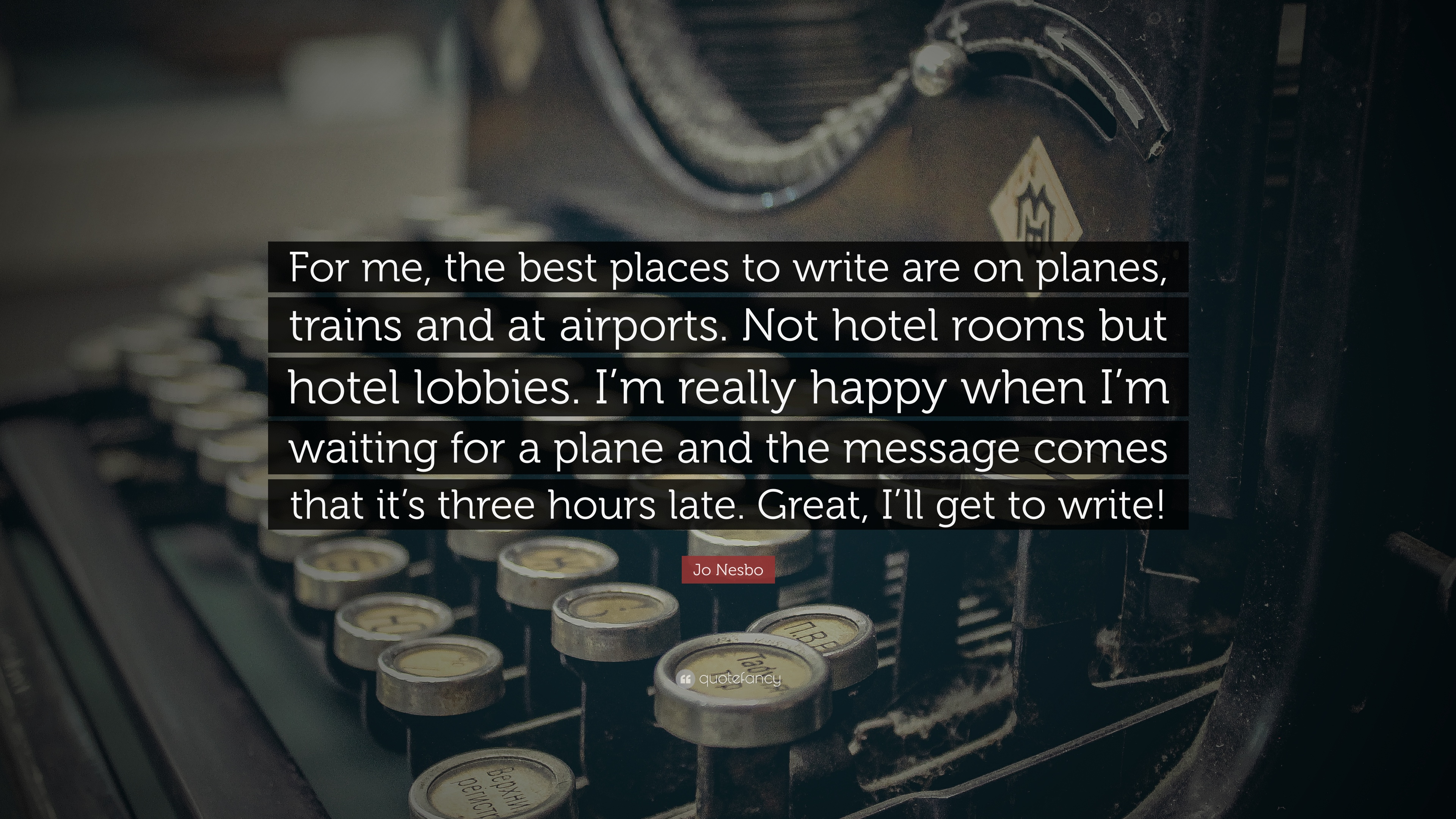 best places to write
