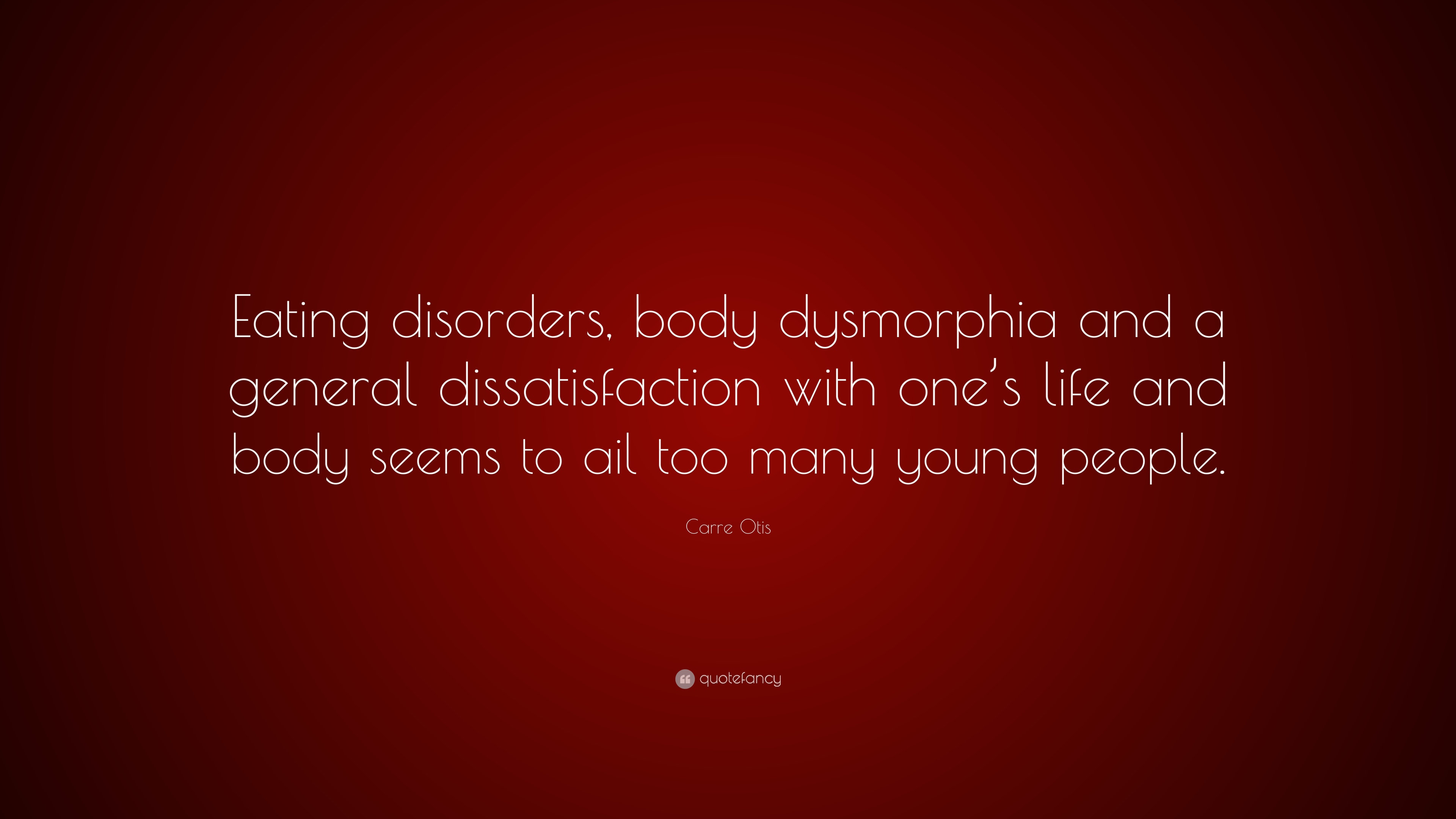 body dissatisfaction and eating disorder When you overhear a conversation or a health report concerning eating disorders like anorexia and bulimia do you just shrug them off as a chick problem well guys, think again.