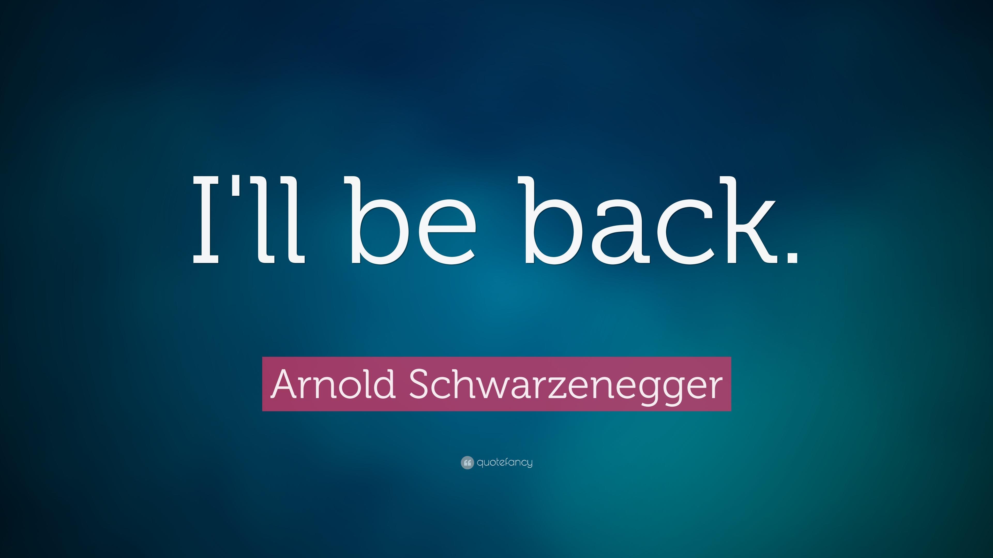 Arnold Schwarzenegger Quotes (19 Wallpapers)