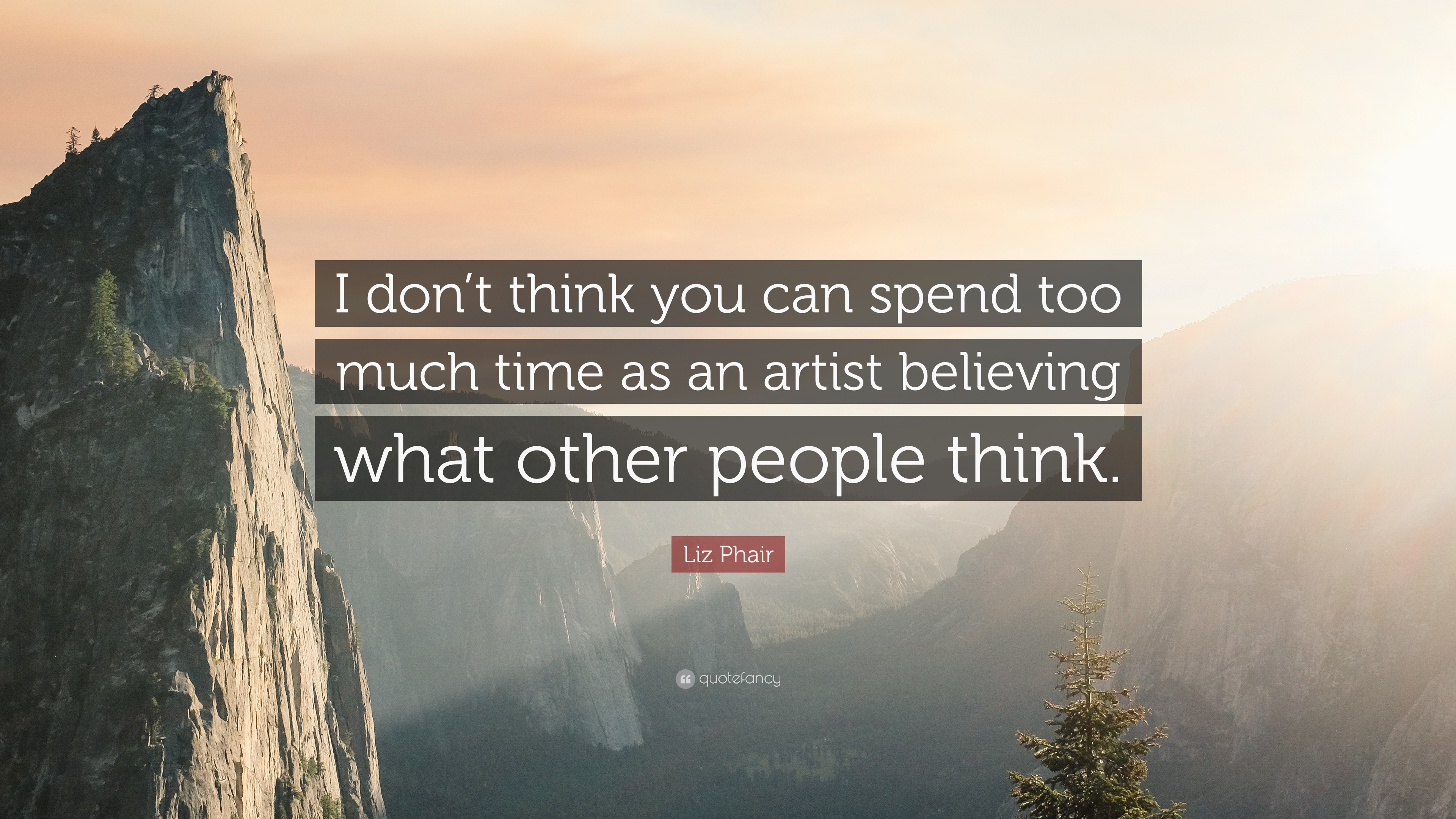 "Liz Phair Quote: ""I Don't Think You Can Spend Too Much"