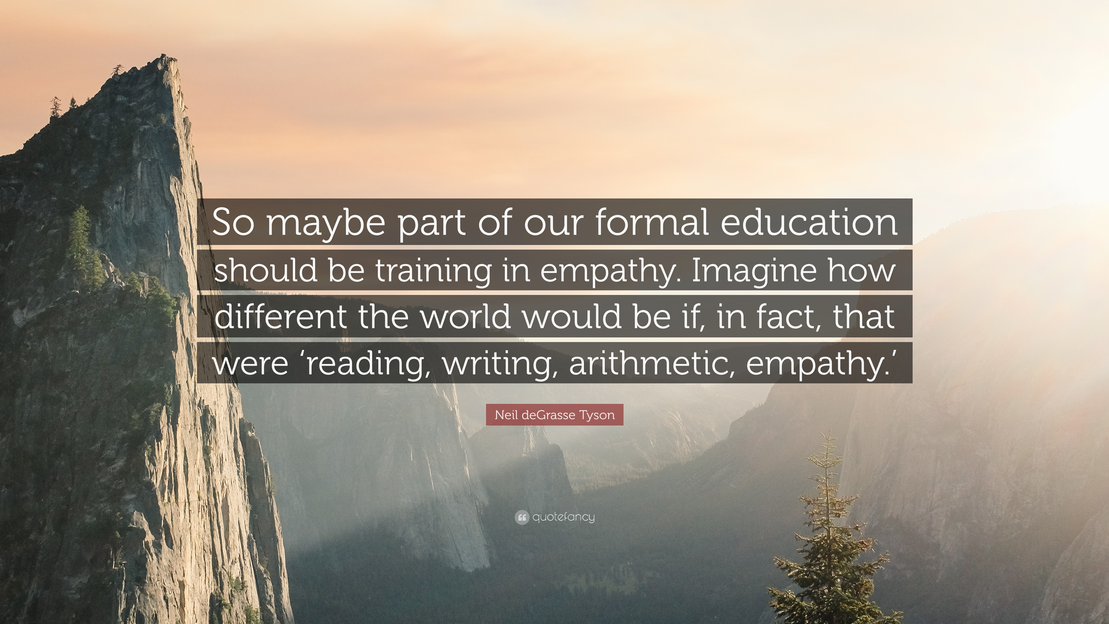 neil degrasse tyson quote so maybe part of our formal education