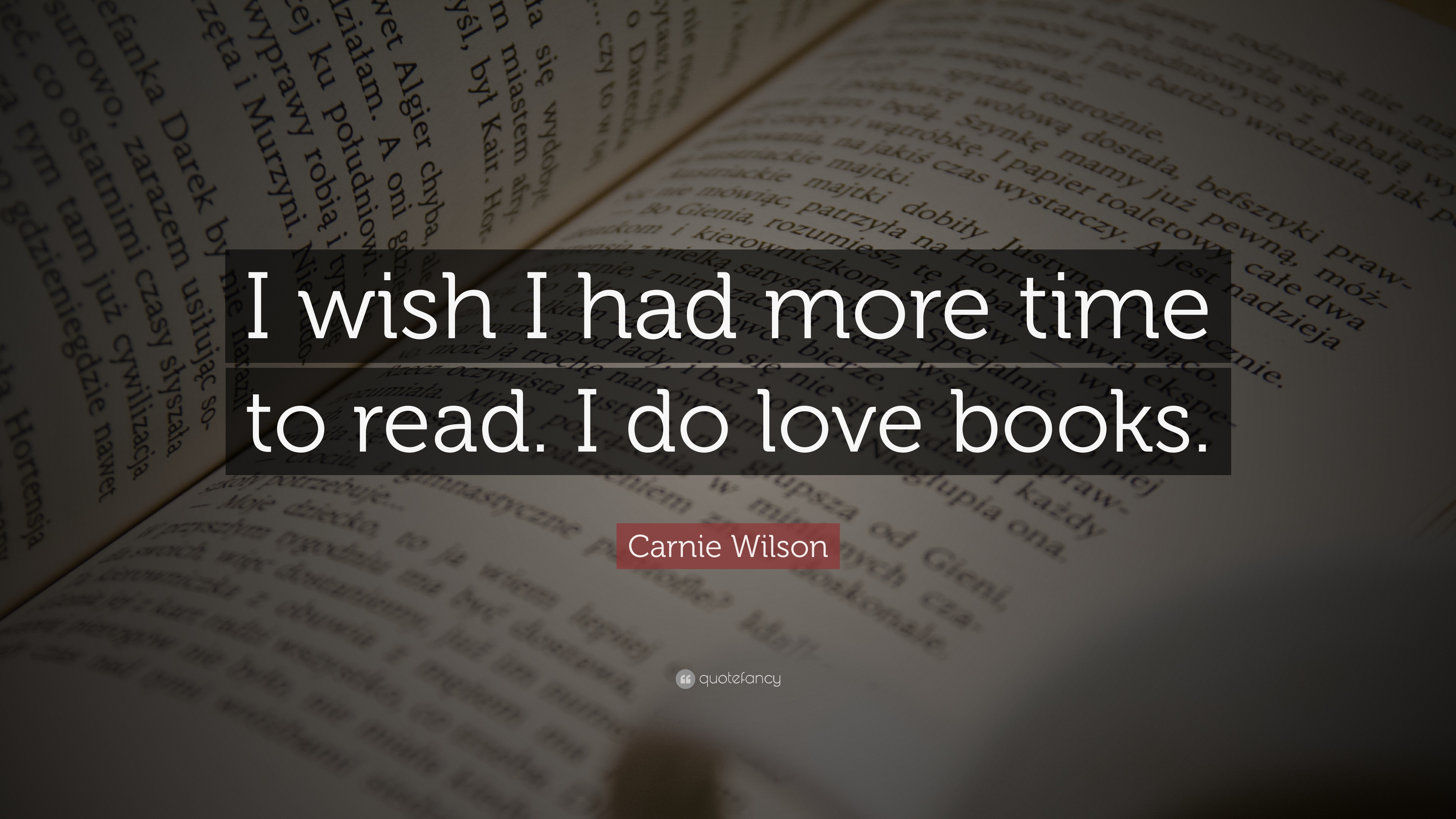 why do i love books