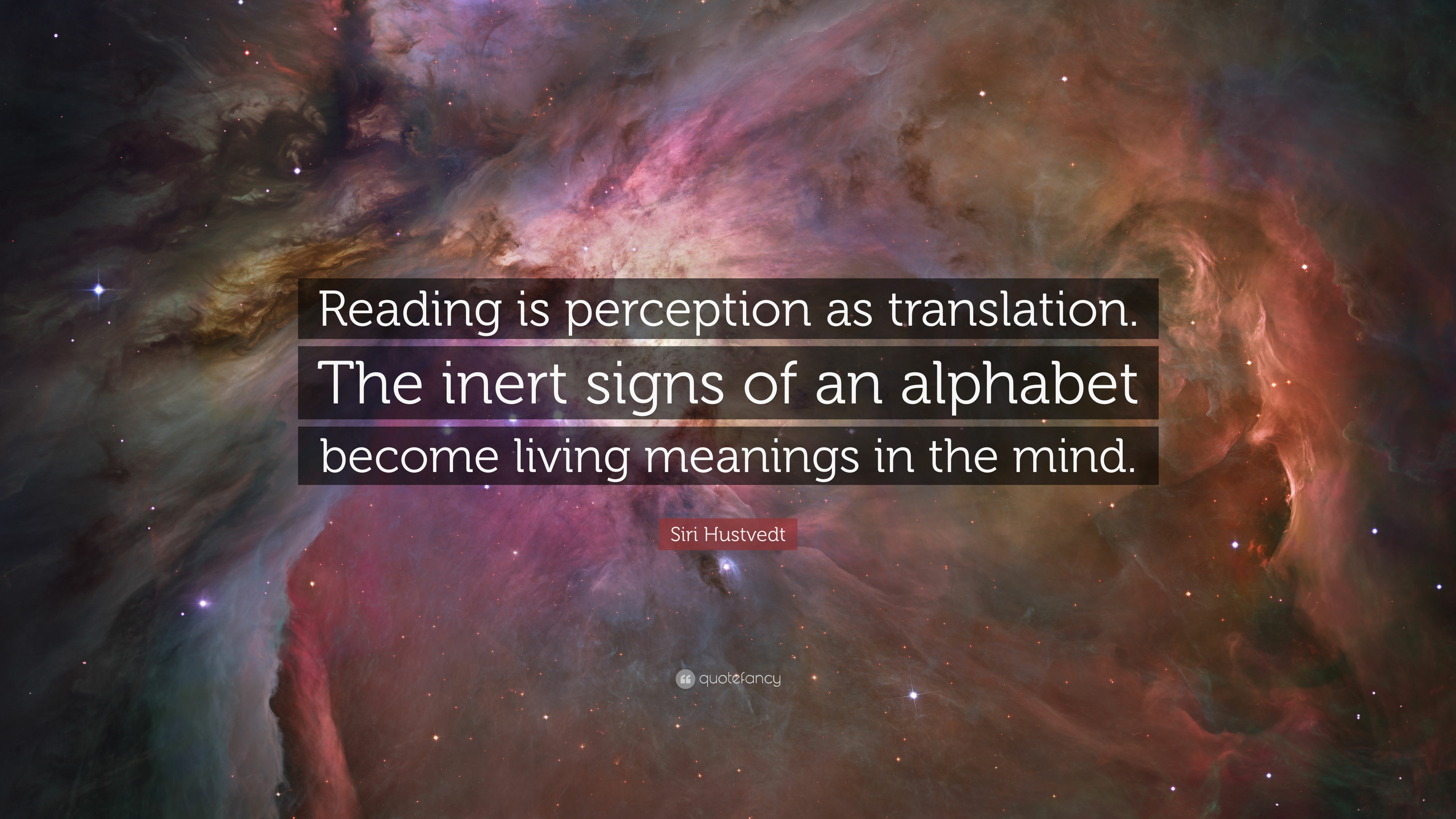 Meaning is in the mind of