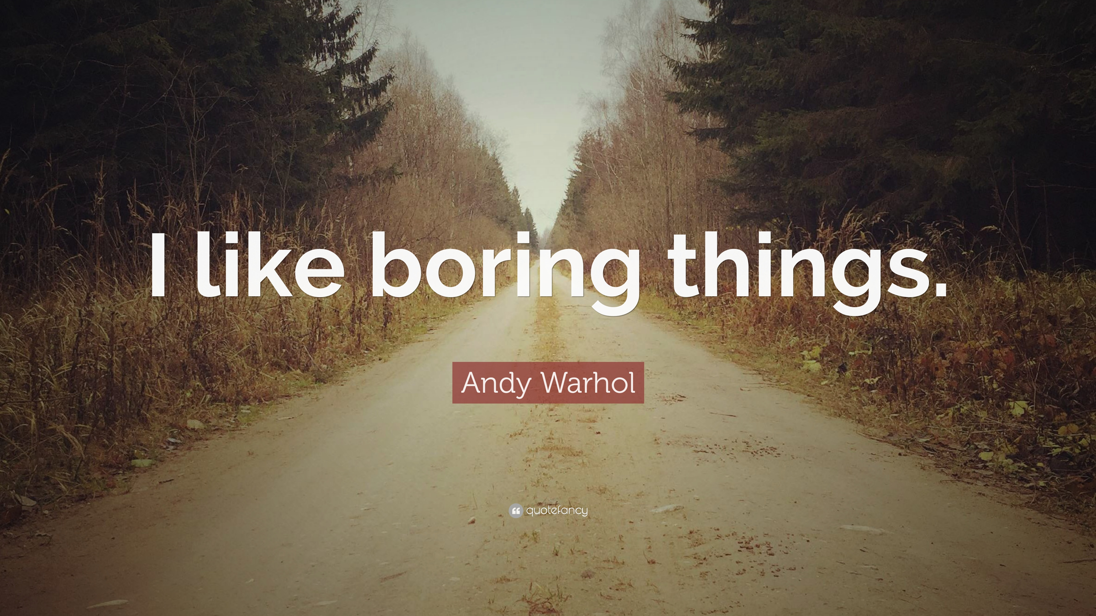 Things I Like About You: Andy Warhol Quotes (100 Wallpapers)