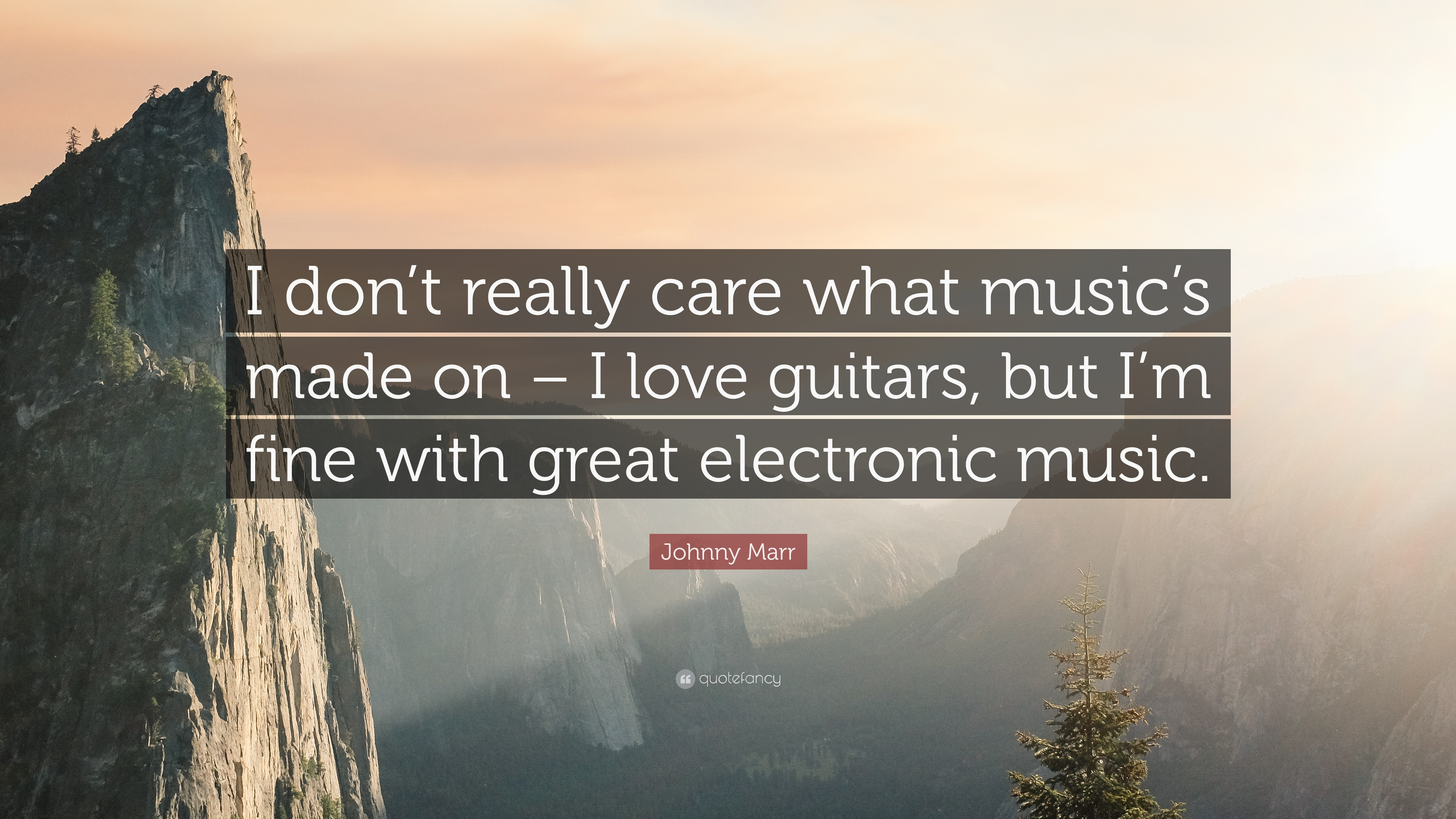 johnny marr quotes quotefancy johnny marr quote i don t really care what music s made on