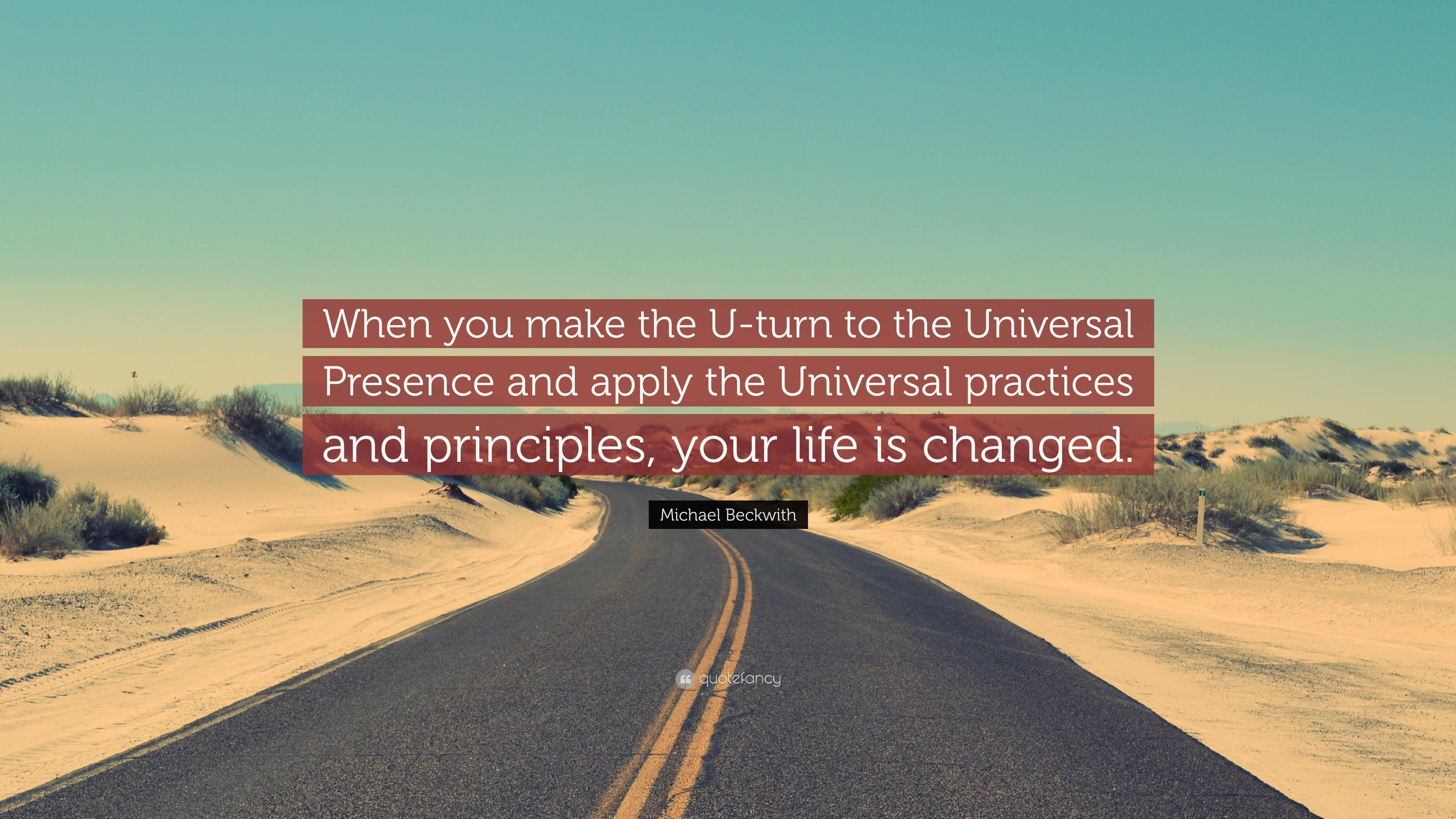 How to make a U-turn