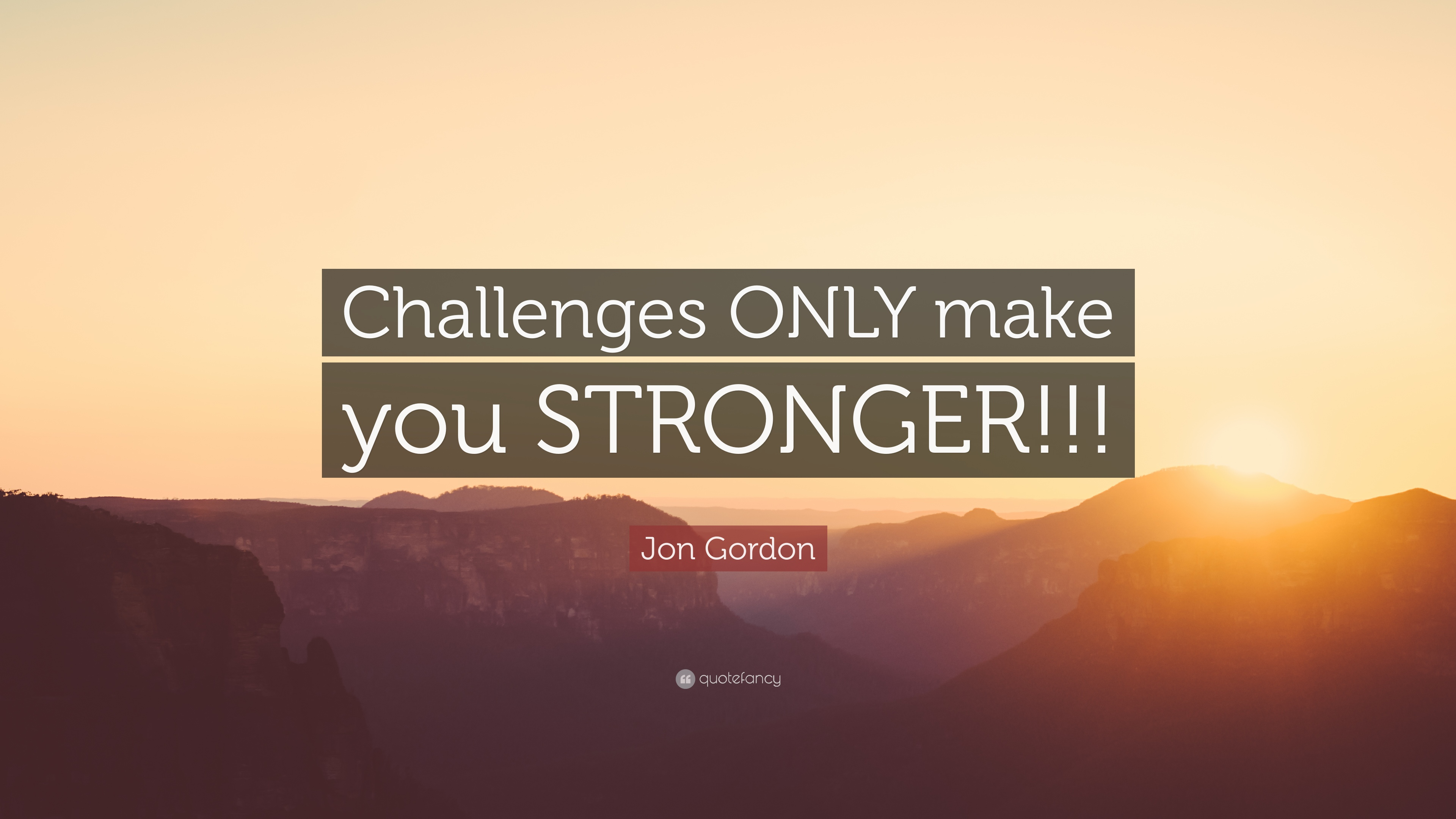 jon gordon quote challenges only make you stronger 9