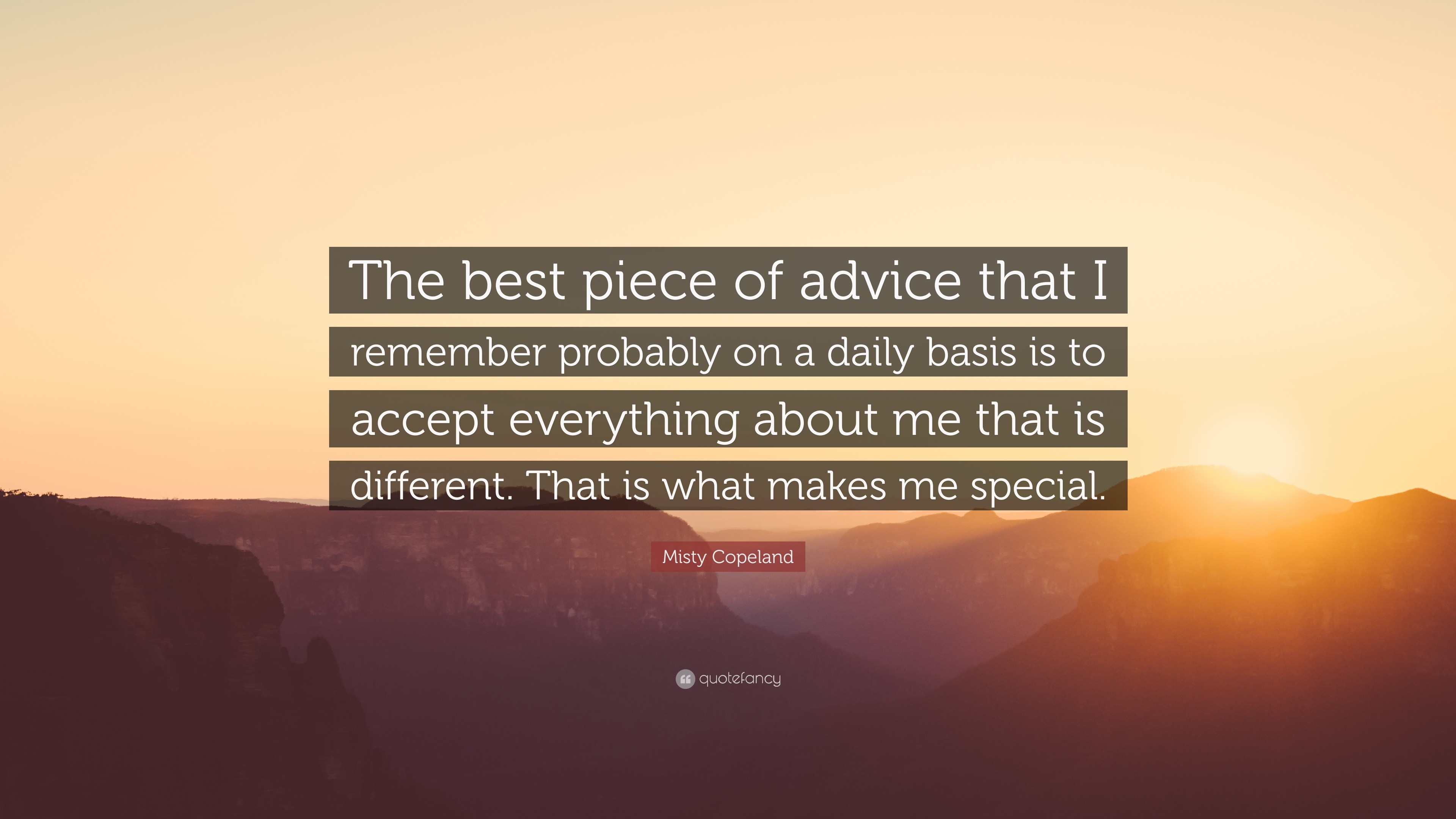 Which piece of advice/quote is the best?