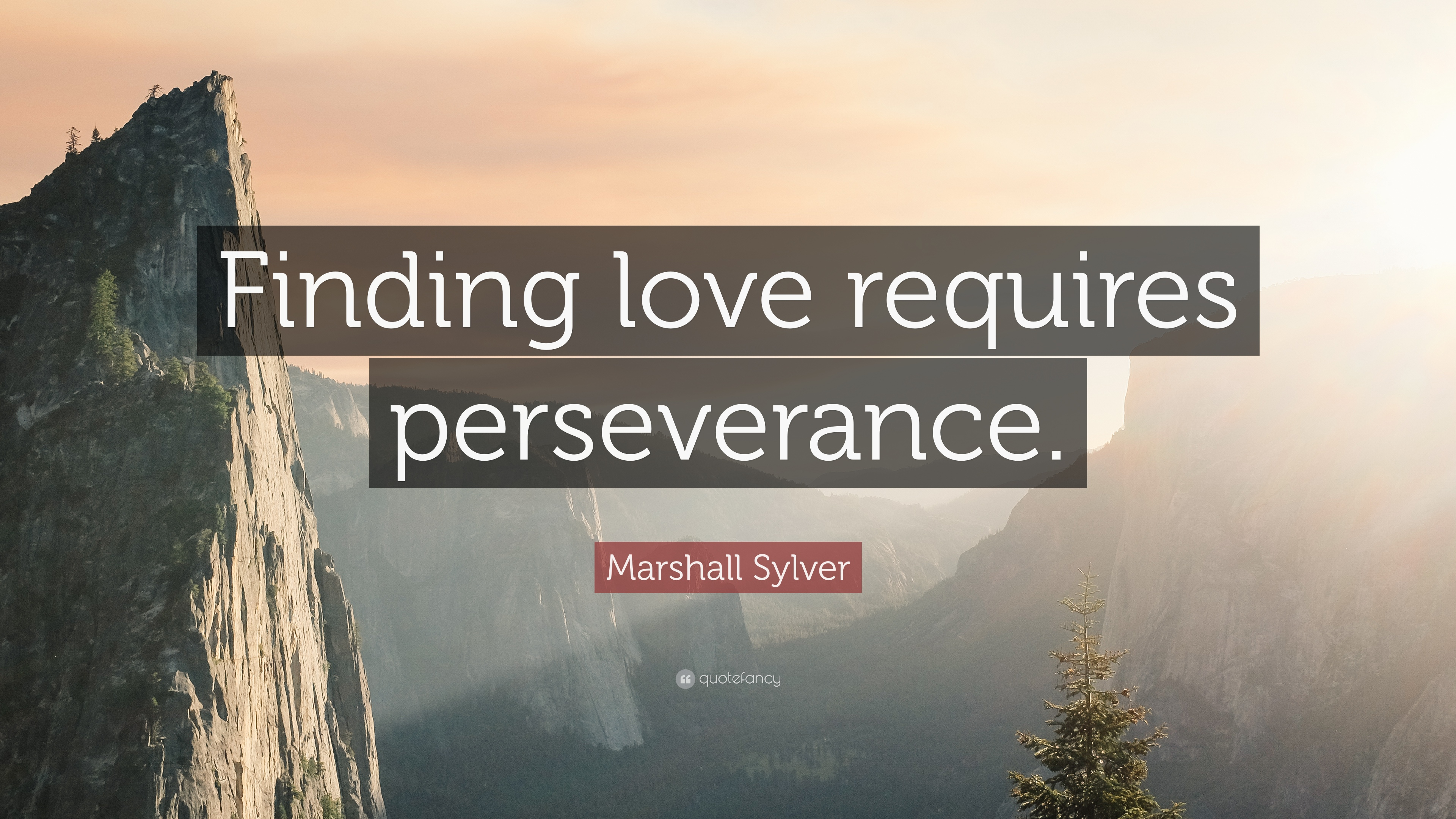 Finding Love Quotes | Marshall Sylver Quote Finding Love Requires Perseverance 10