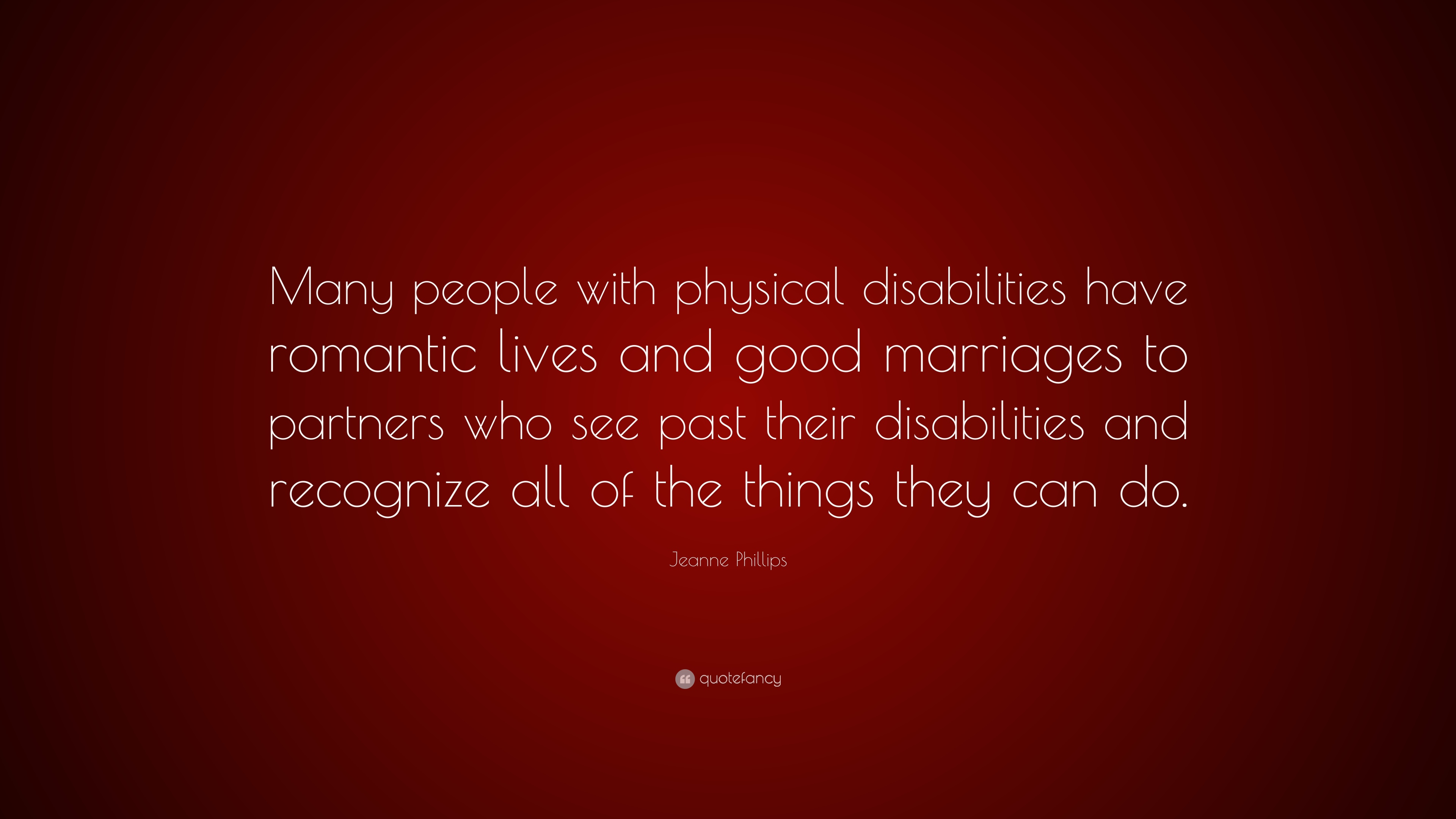 Quotes About Disabilities Jeanne Phillips Quotes 24 Wallpapers  Quotefancy