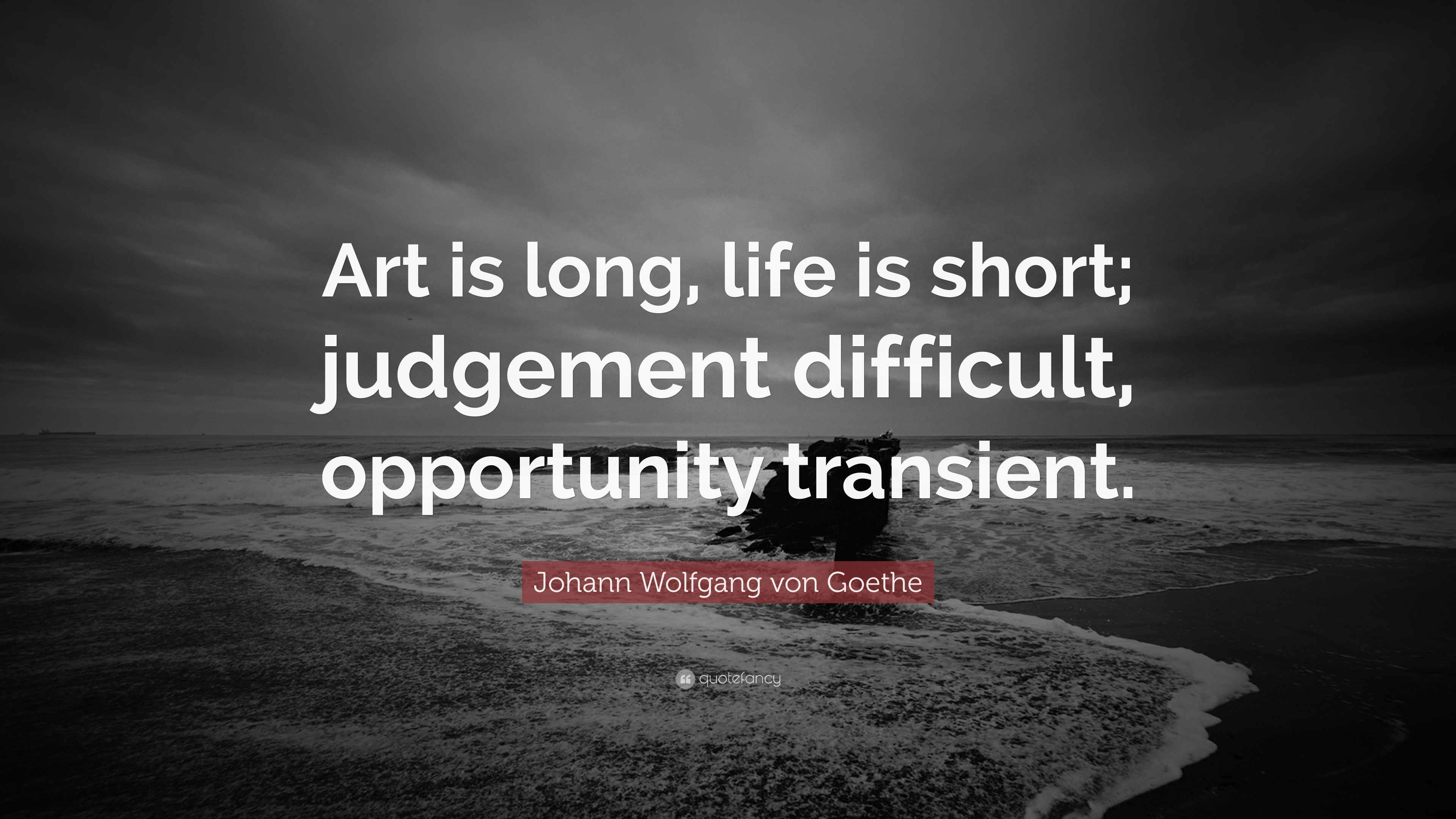 Art is Long, Life is Short