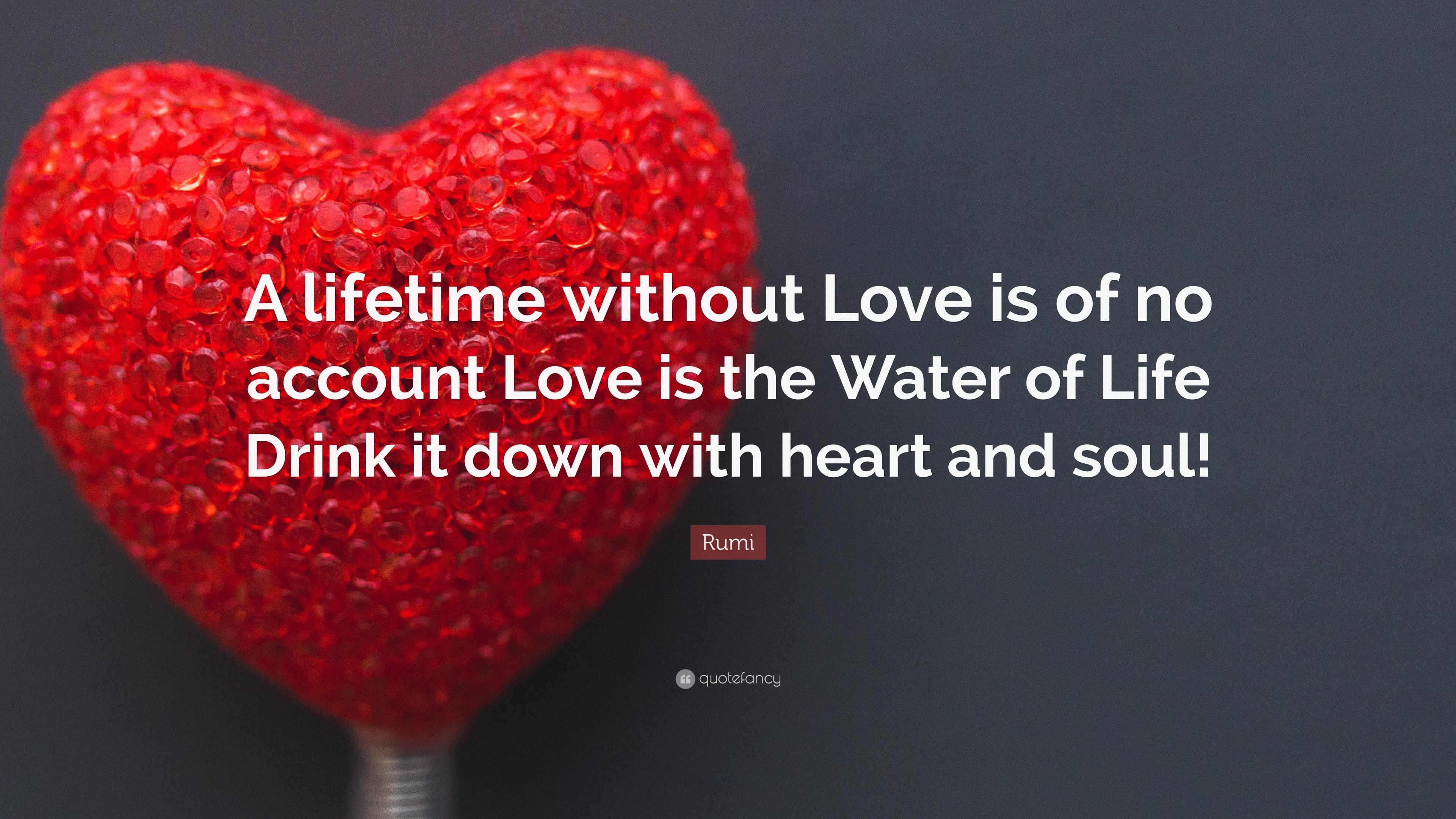 12 Wallpapers. Rumi Quote: U201cA Lifetime ...