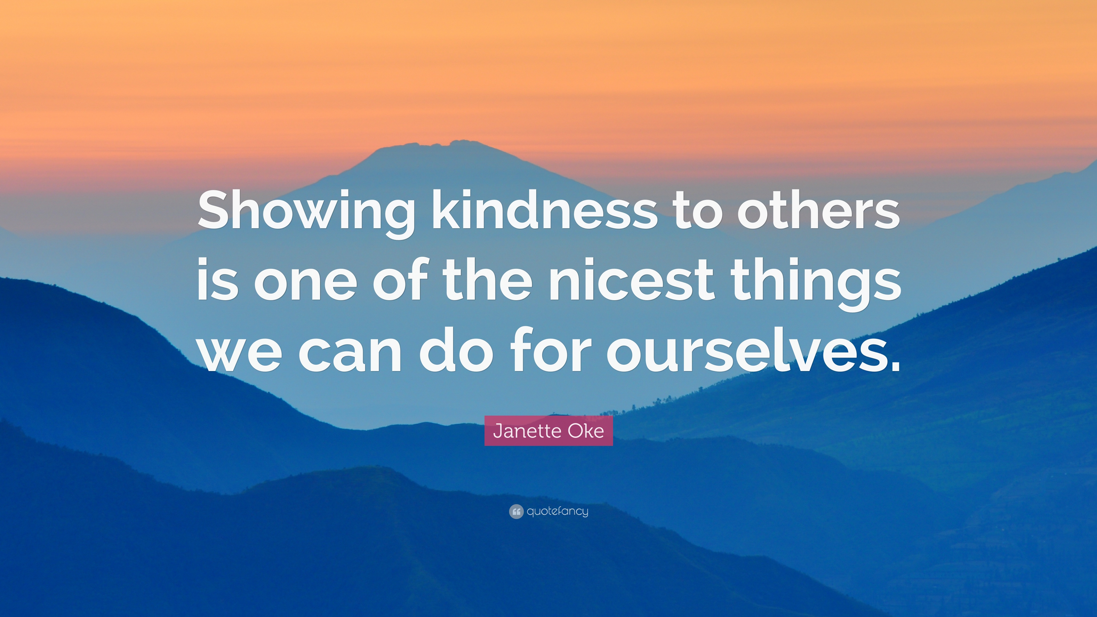 The Kindnesses We Can Do for Ourselves