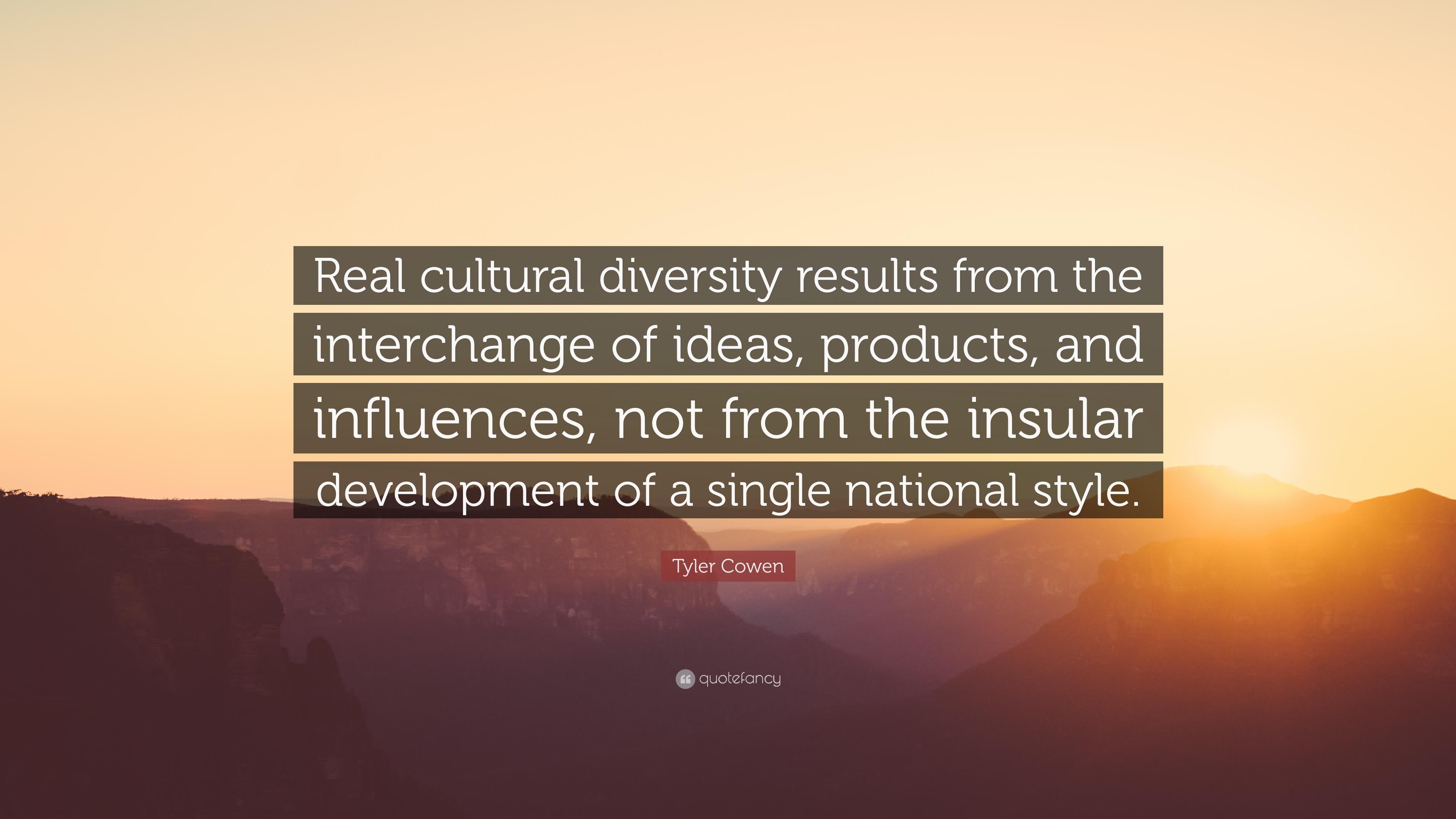 cultural insularity