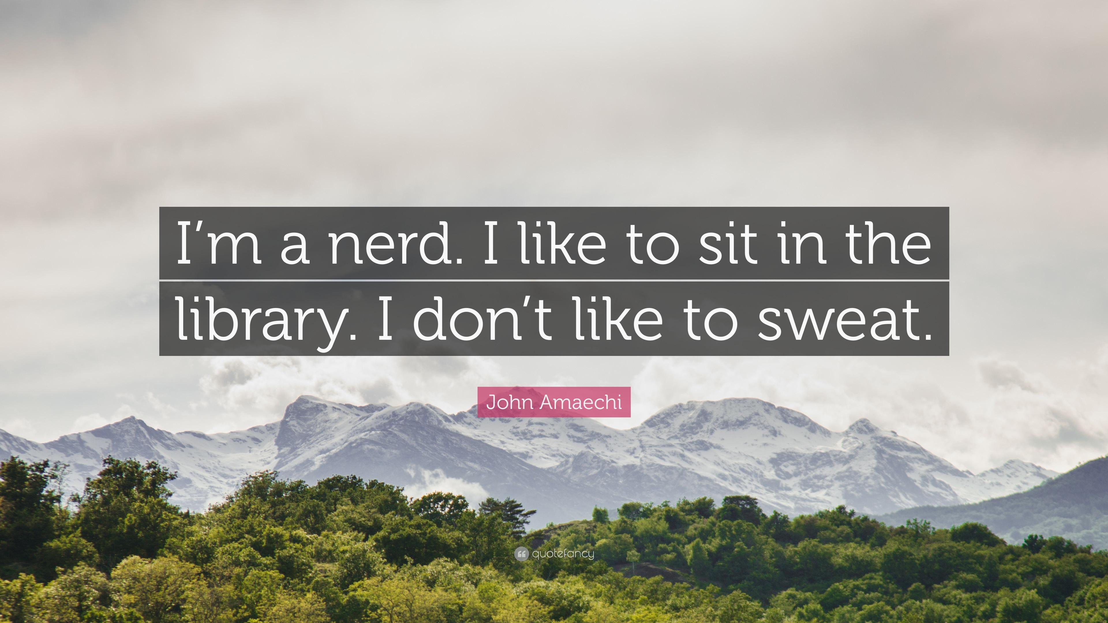 nerd sweat