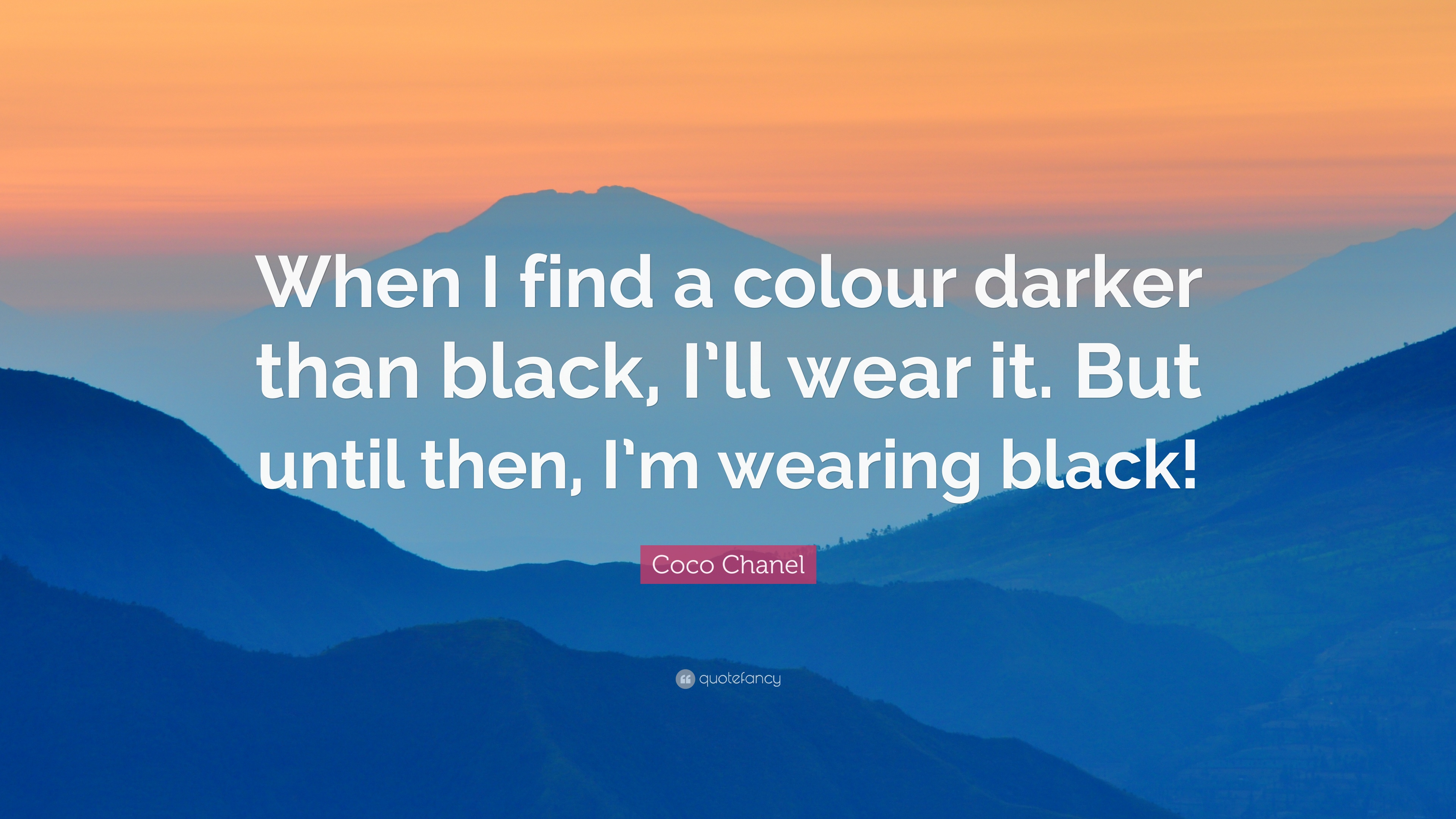 Darker Than Black Quotes: Coco Chanel Quotes (100 Wallpapers)