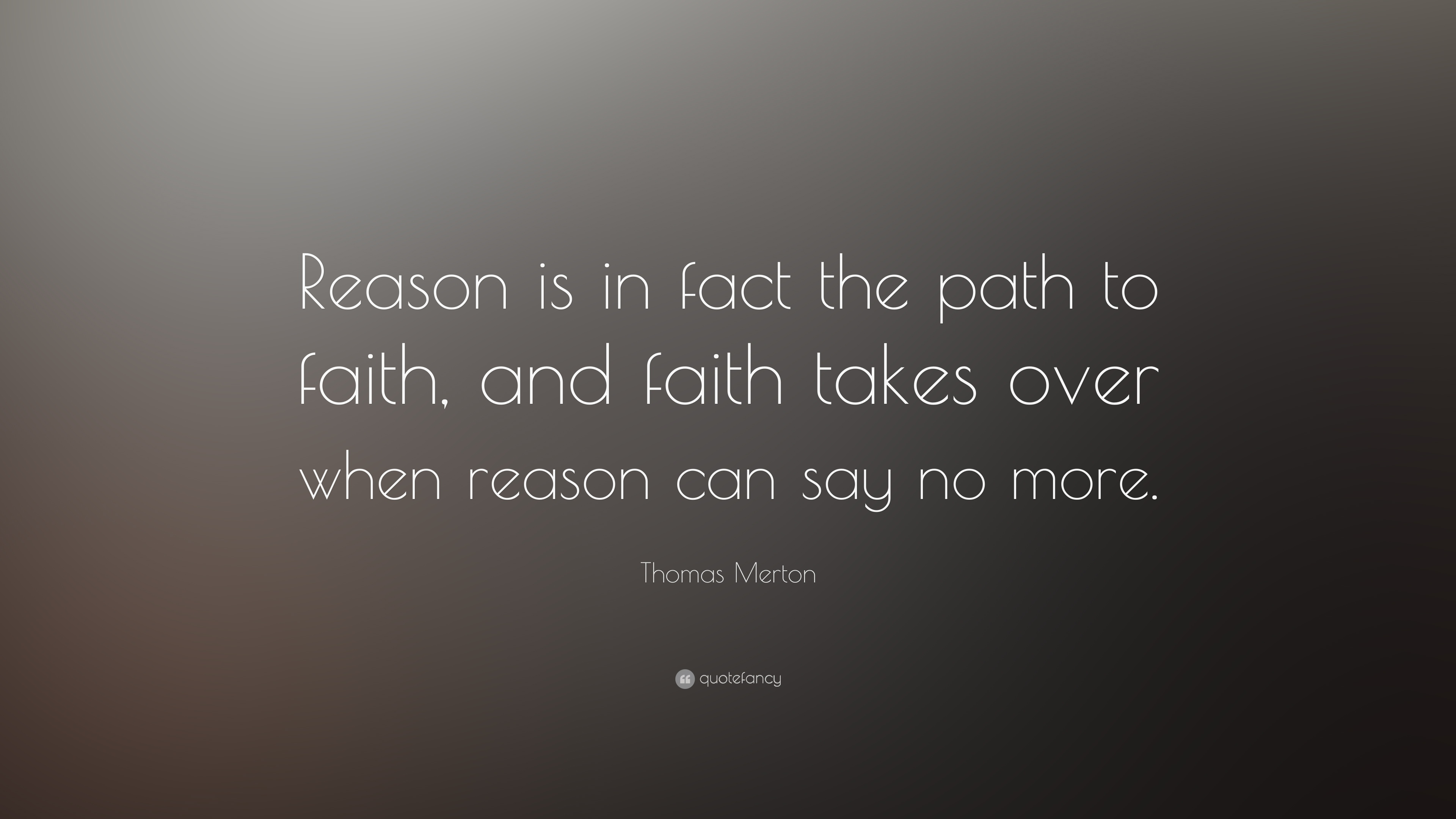 Thesis On Faith And Reason statement