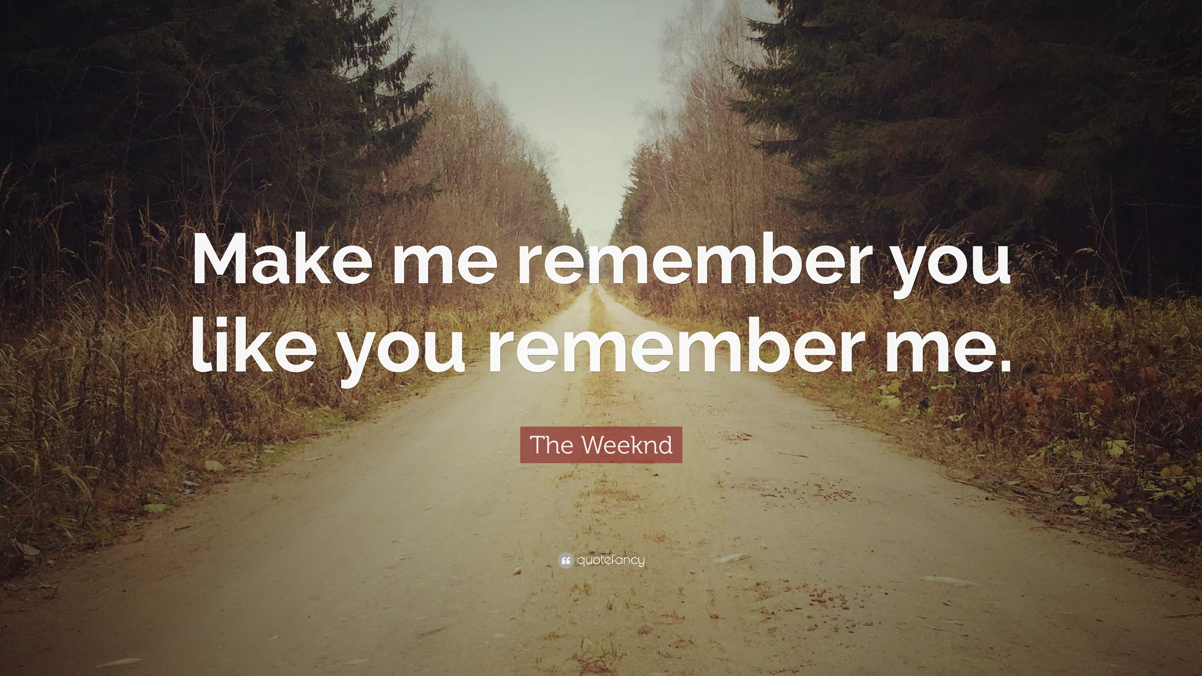 The Weeknd Quote Make Me Remember You Like You Remember Me 12
