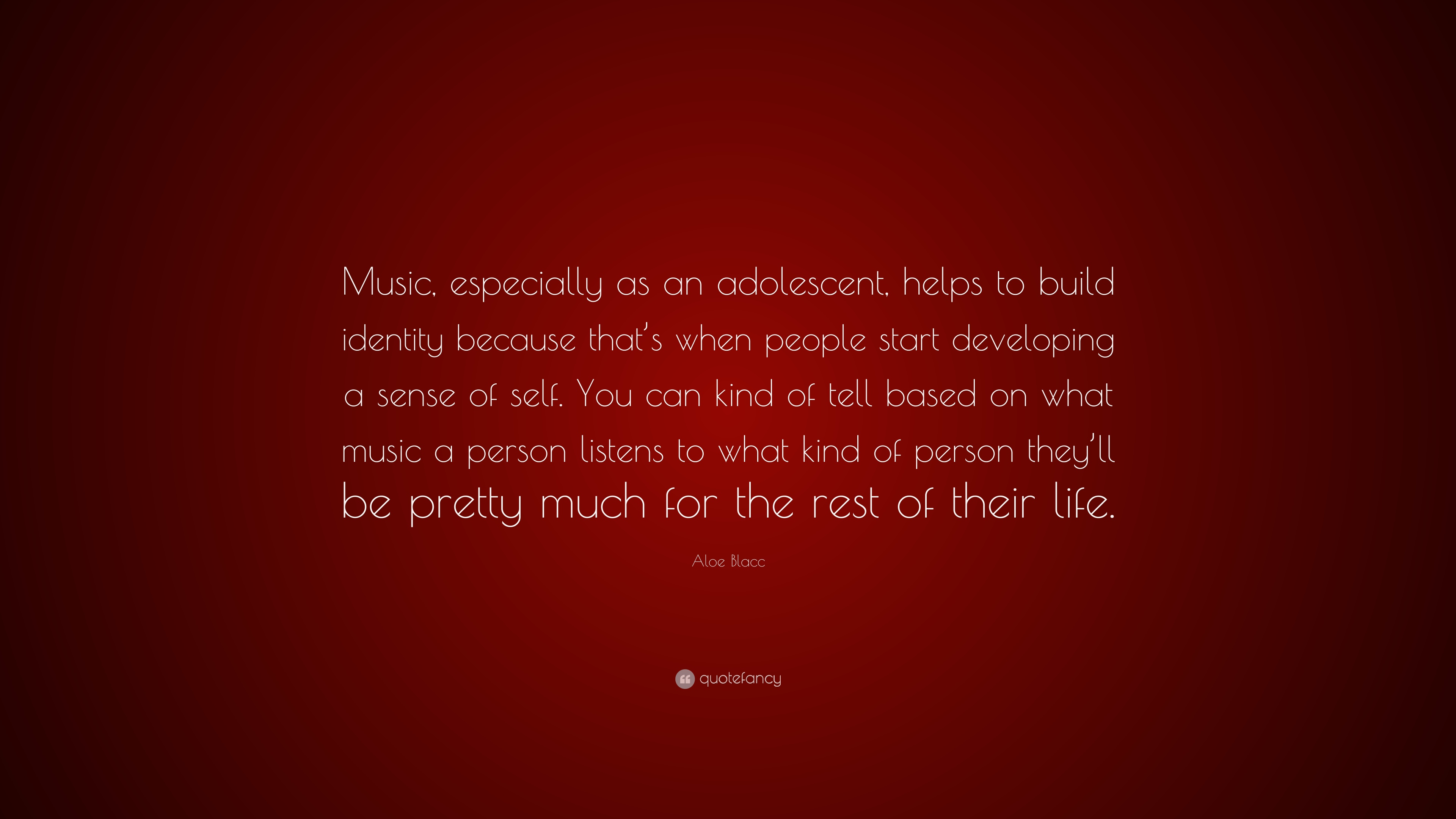Aloe Blacc Quote Music Especially As An Adolescent Helps To