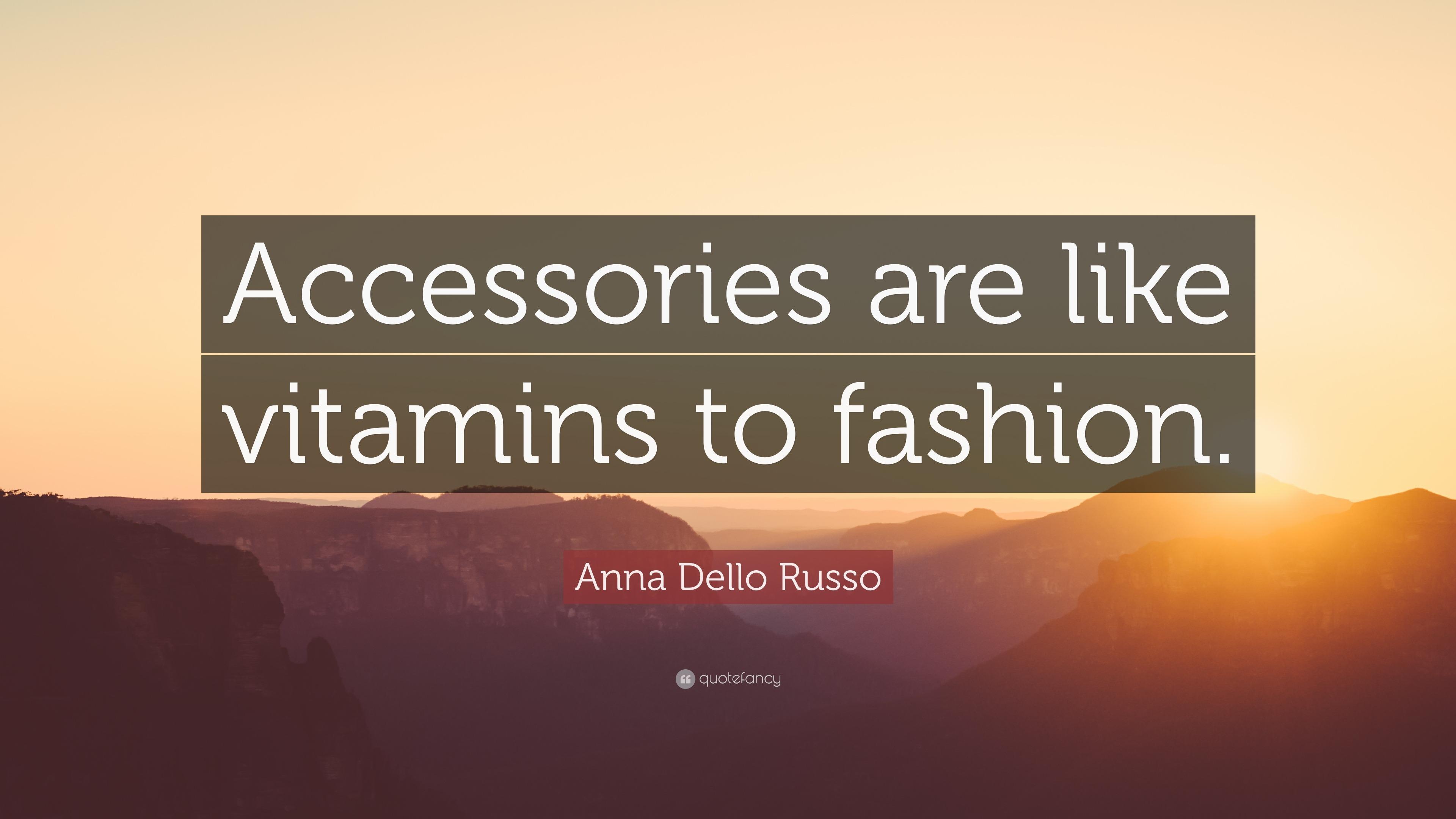 Accessories Quotes