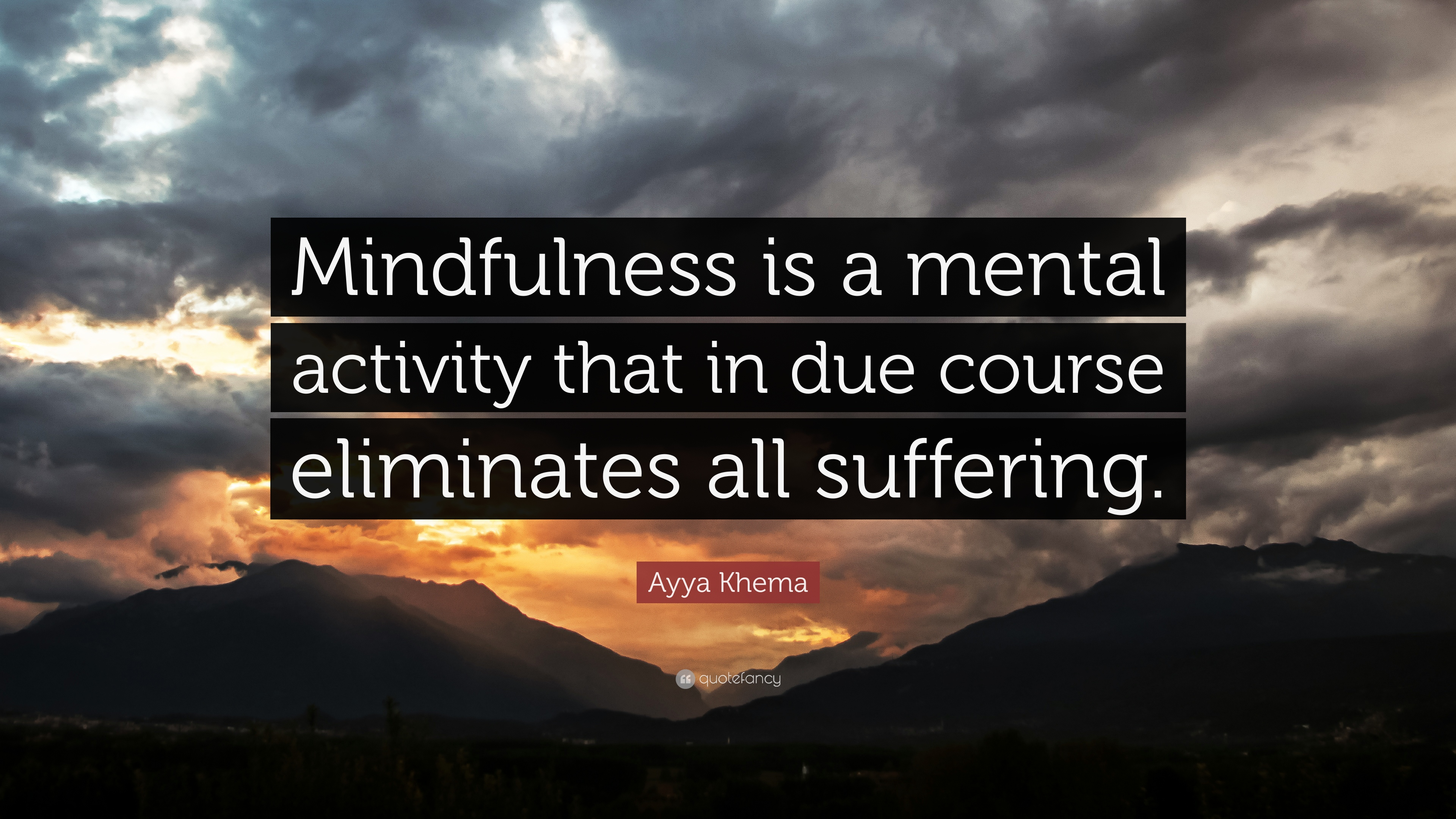 Quotes About Mindfulness Entrancing Ayya Khema Quotes 14 Wallpapers  Quotefancy