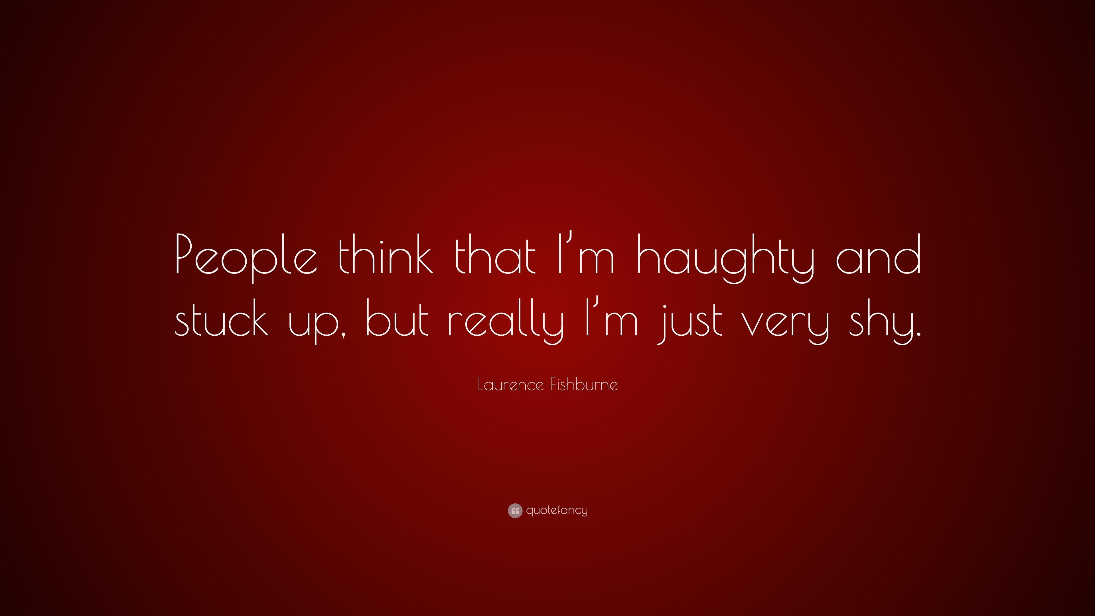 Original!√ Stuck Up People Quotes
