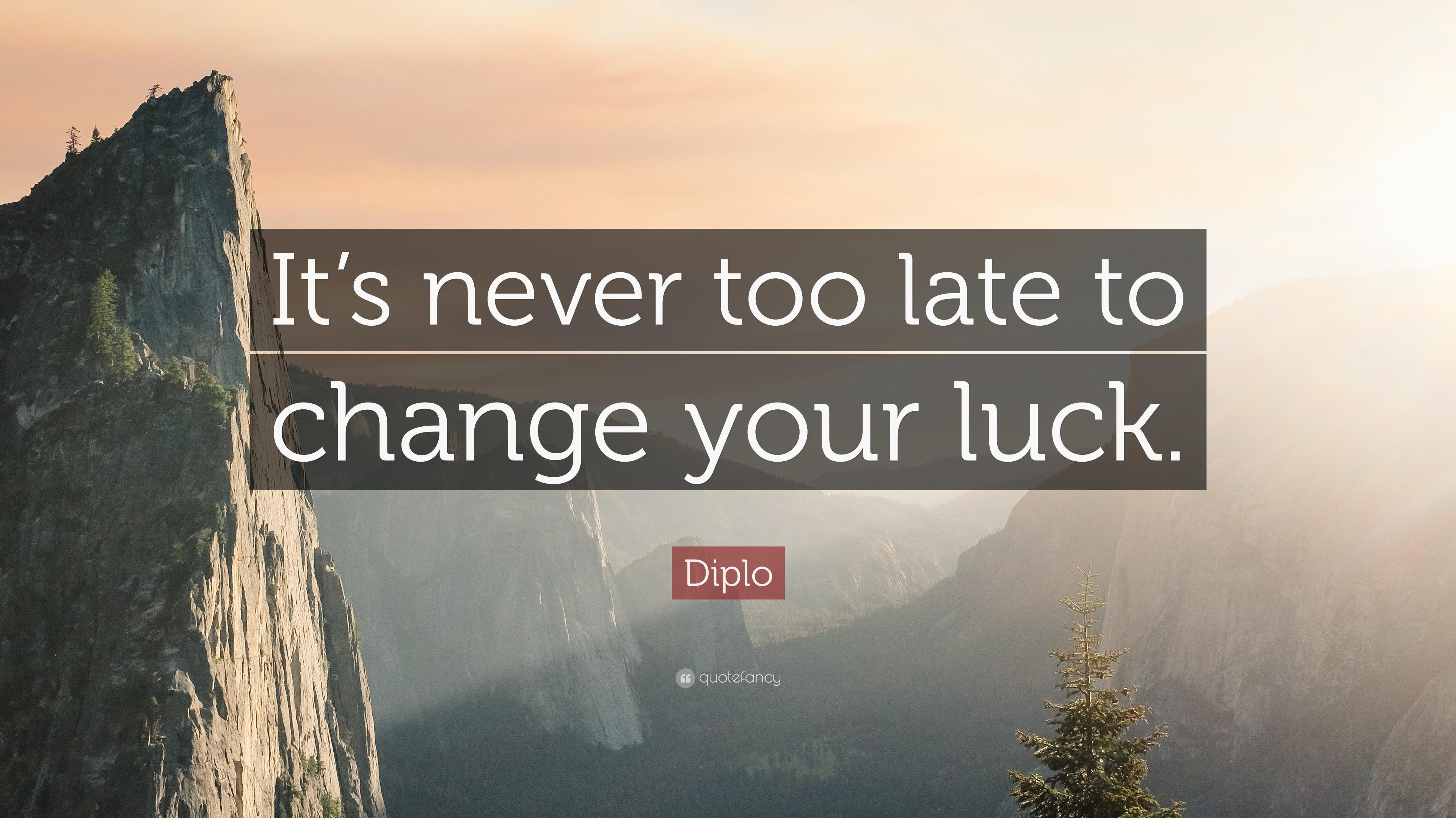 Luck Sayings