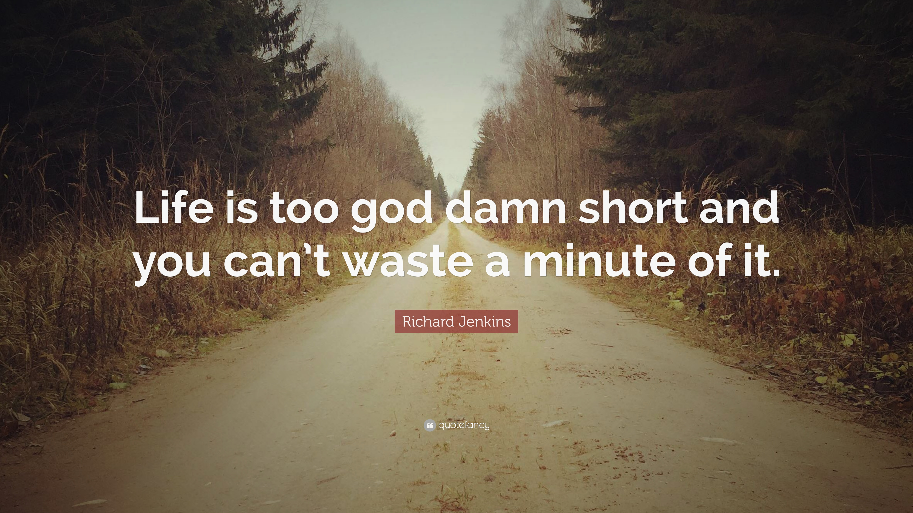 Life Is Too Damn Short Quotes Blueridge Wallpapers