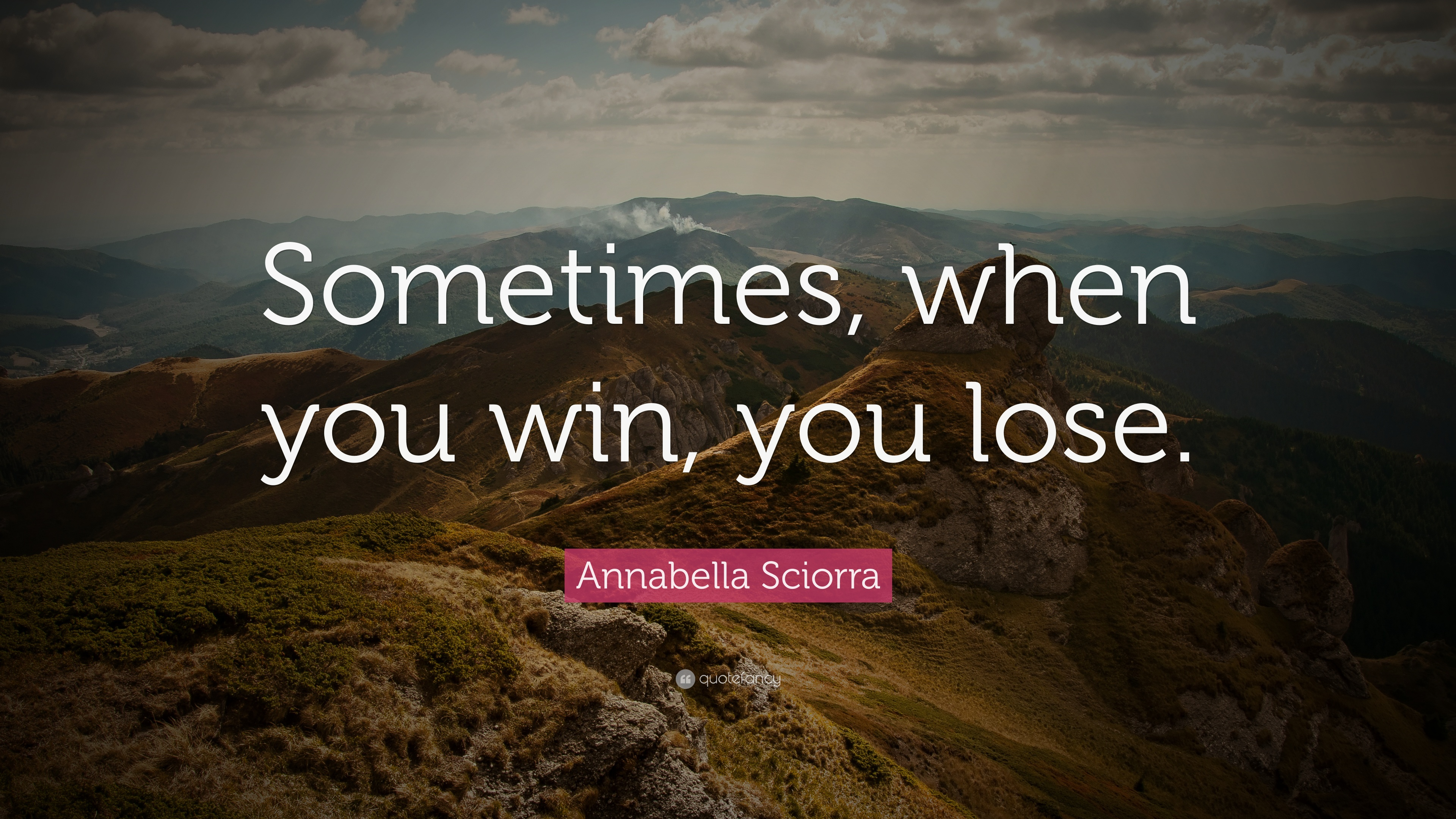 Image result for sometimes when you win, you lose