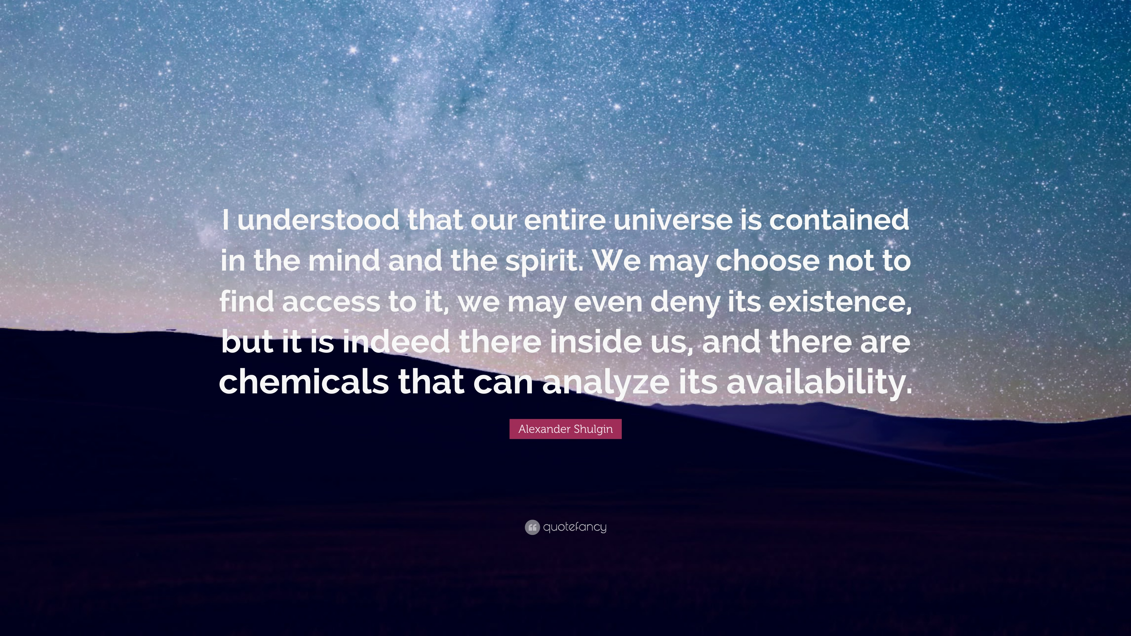 Alexander Shulgin Quotes (8 Wallpapers)