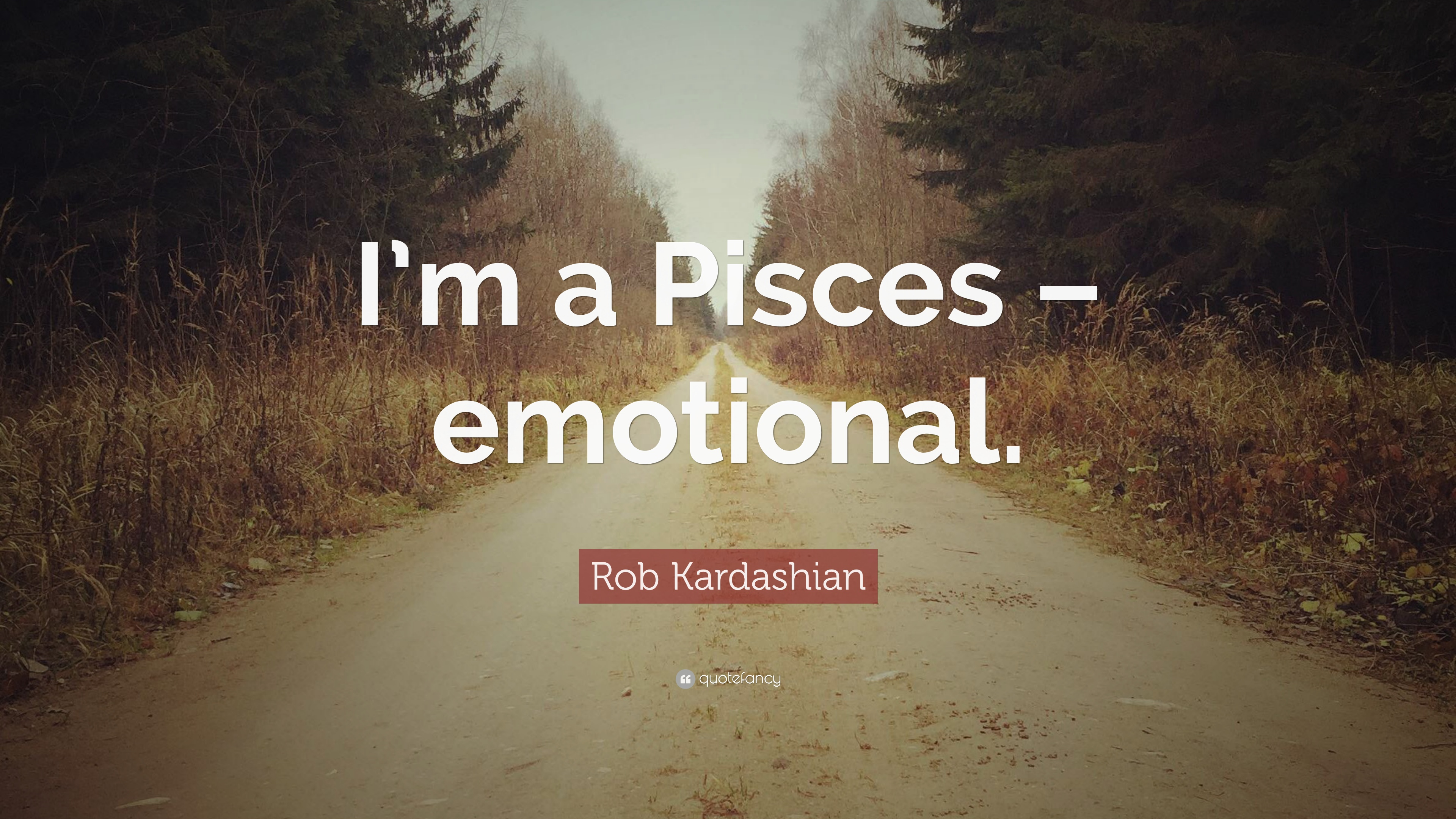 Pisces Quotes Rob Kardashian Quotes 13 Wallpapers  Quotefancy