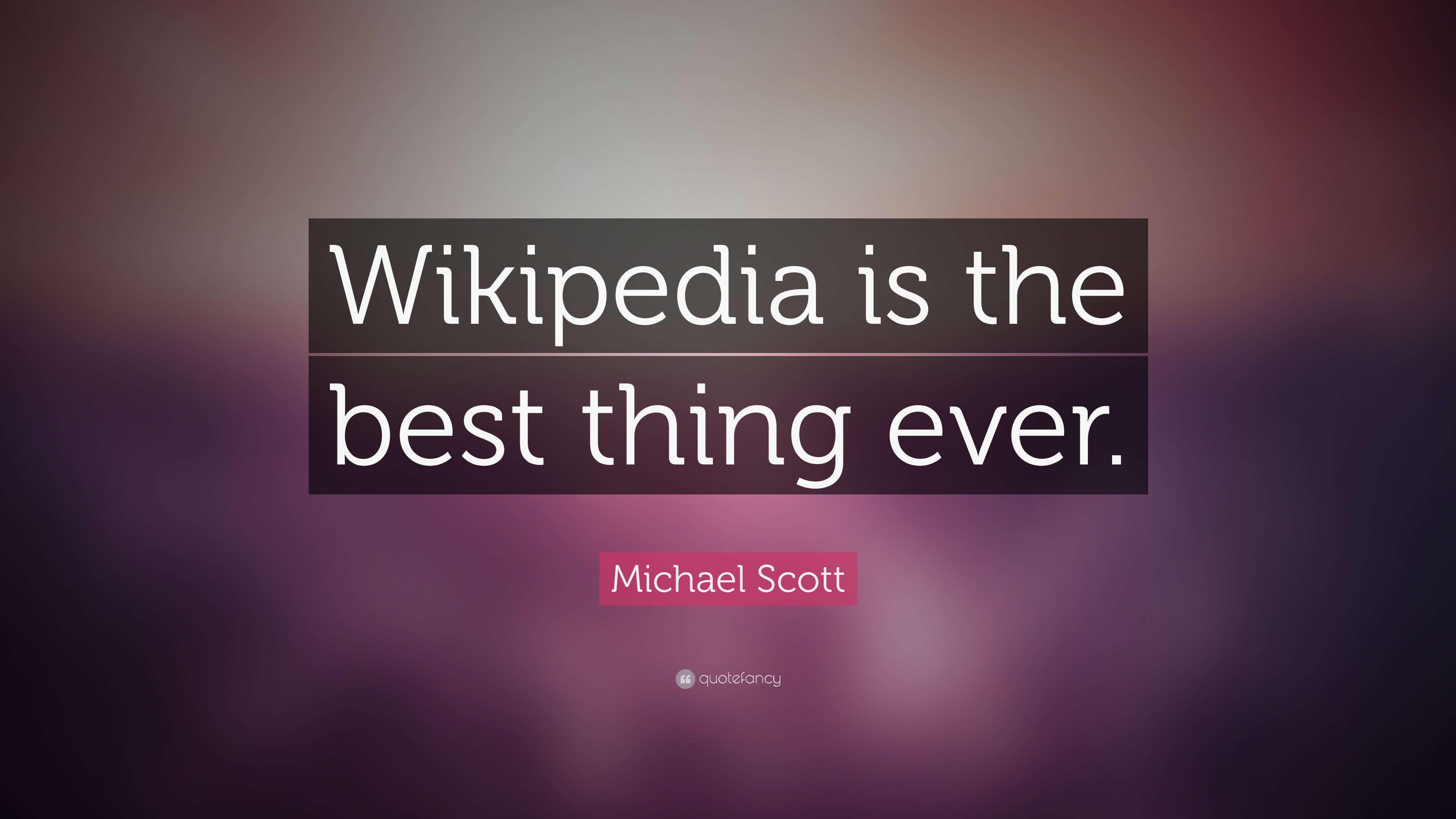 Michael scott quote wikipedia is the best thing ever - Michael scott wallpaper ...